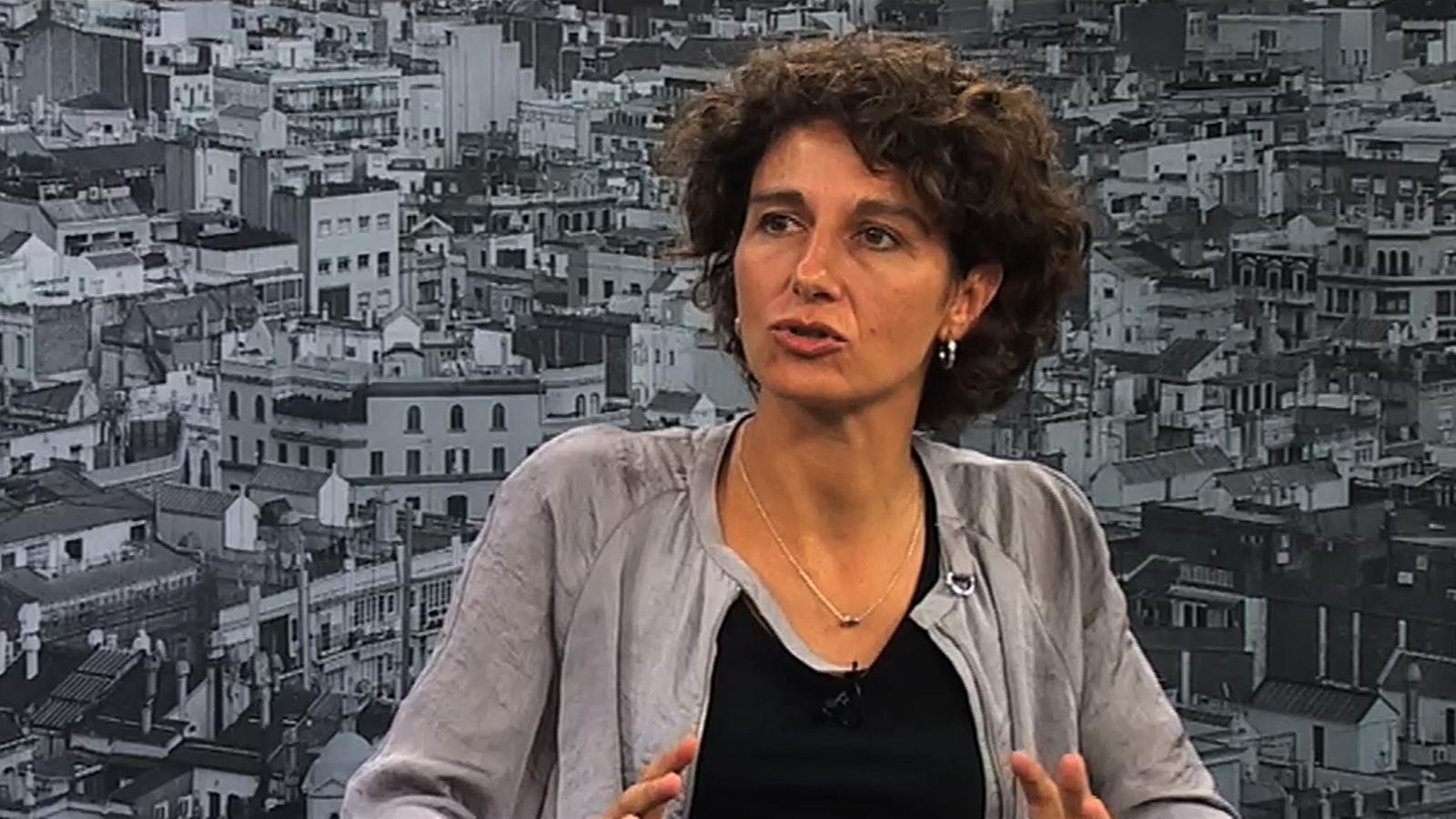 """Marina Garcés: """"He vist homes immensos tremolar davant meu quan els he demanat: tu què voldries fer?"""""""