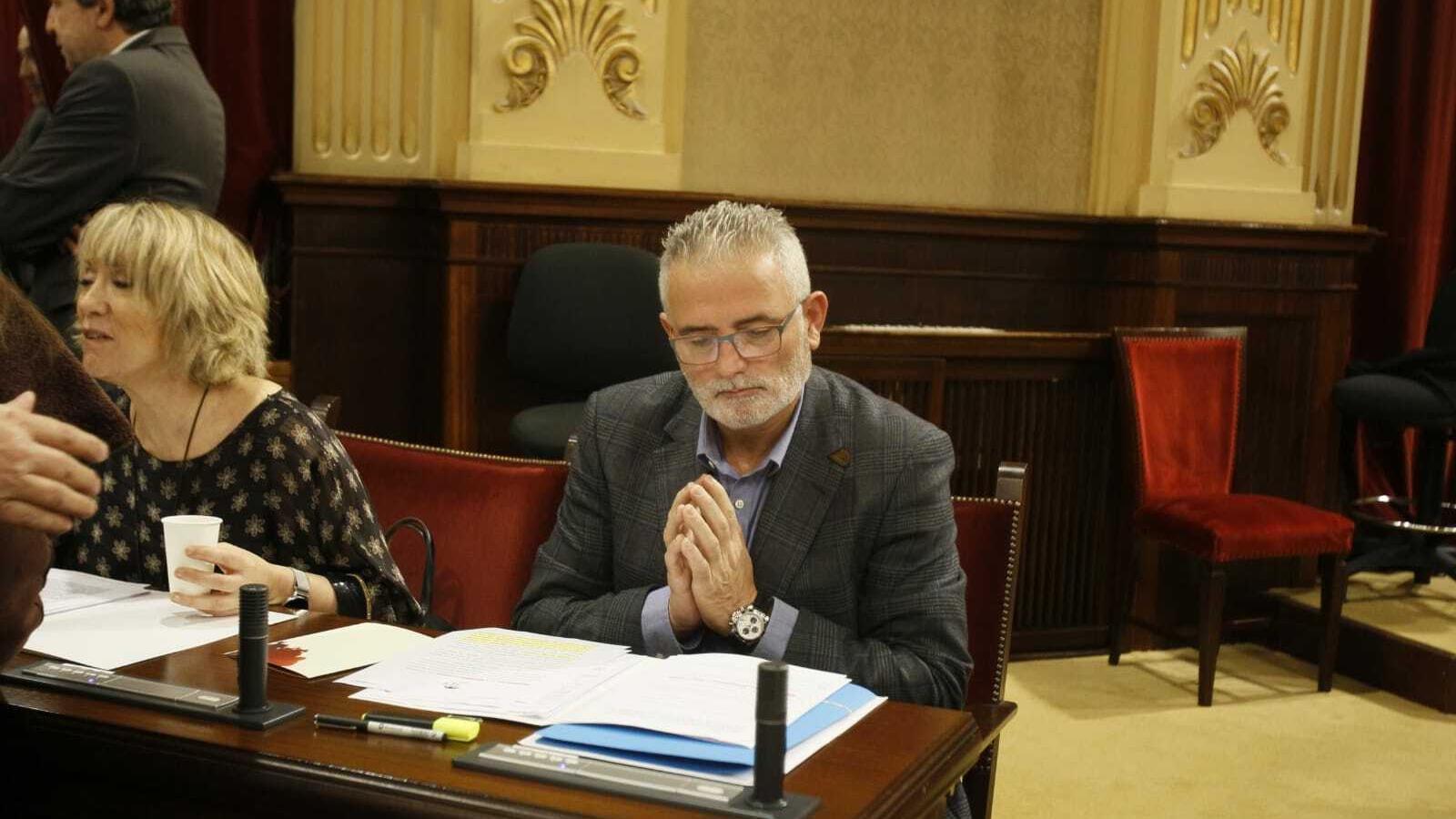 Jaume Font ha anunciat que el pròxim dimarts serà el seu darrer ple