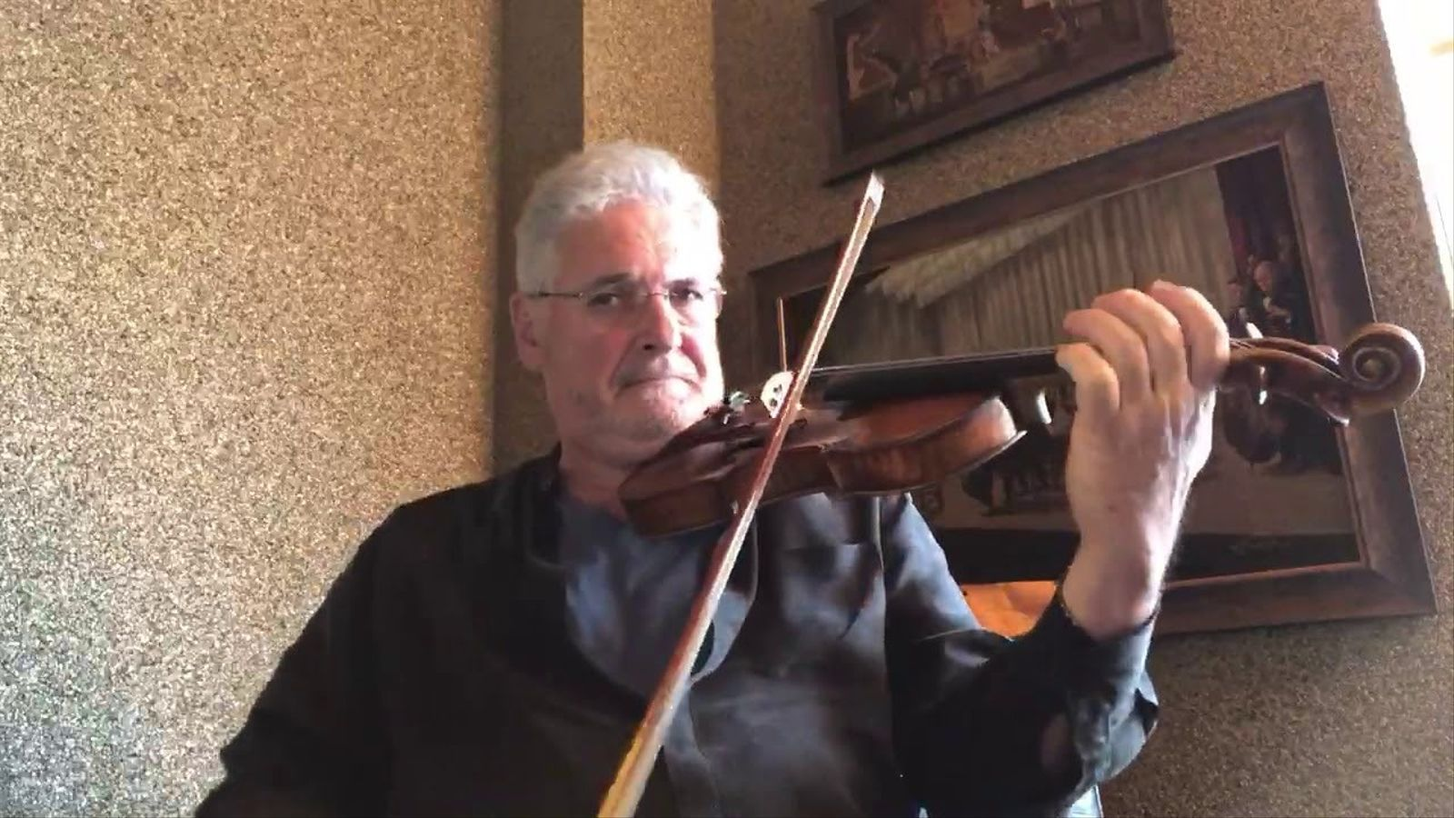 Pinchas Zukerman, 'Partita per a violí núm. 1, en si menor, BWV 1002' , de Bach