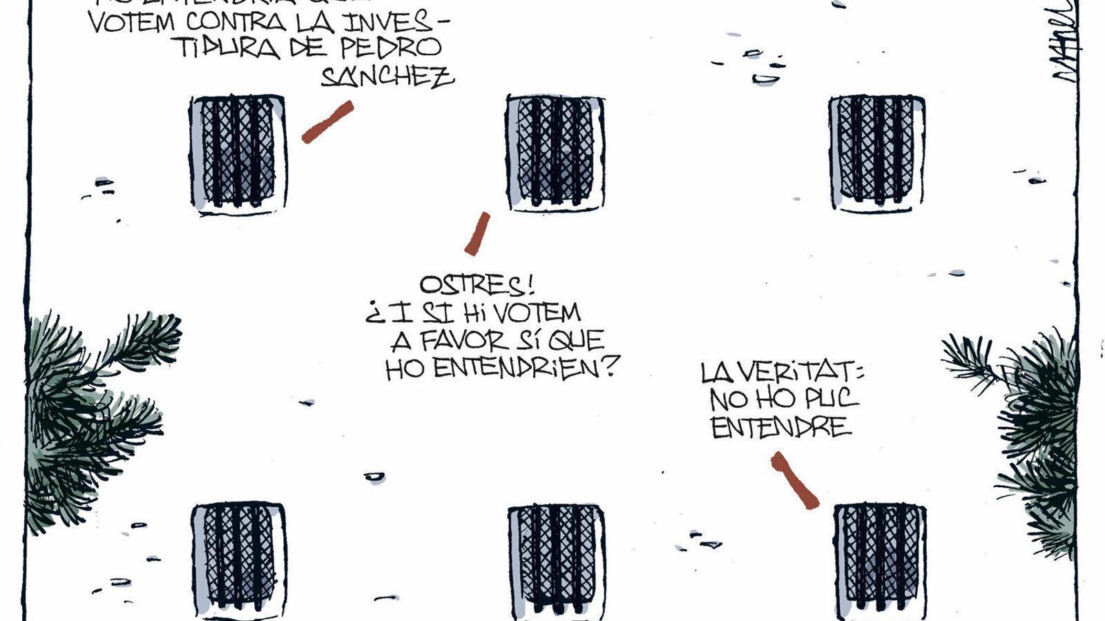 La vinyeta de Manel Fontdevila 17/11/2019