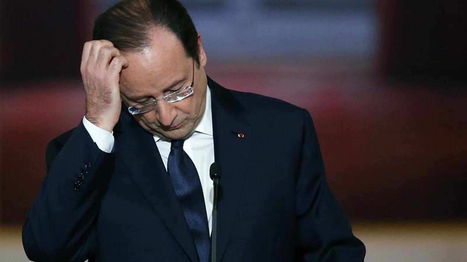 Hollande: Són moments dolorosos. Els afers privats es tracten en privat