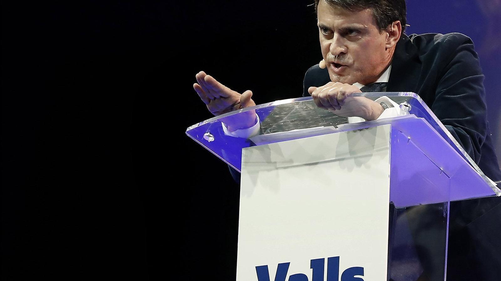 """Valls: """"Hi ha molta gent en el sector independentista que vol que s'apliqui el 155"""""""