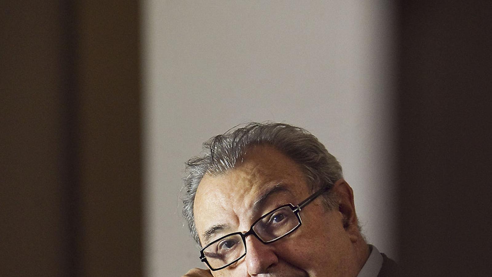 Joan Guinjoan en una imatge de l'any 2011 / PERE VIRGILI