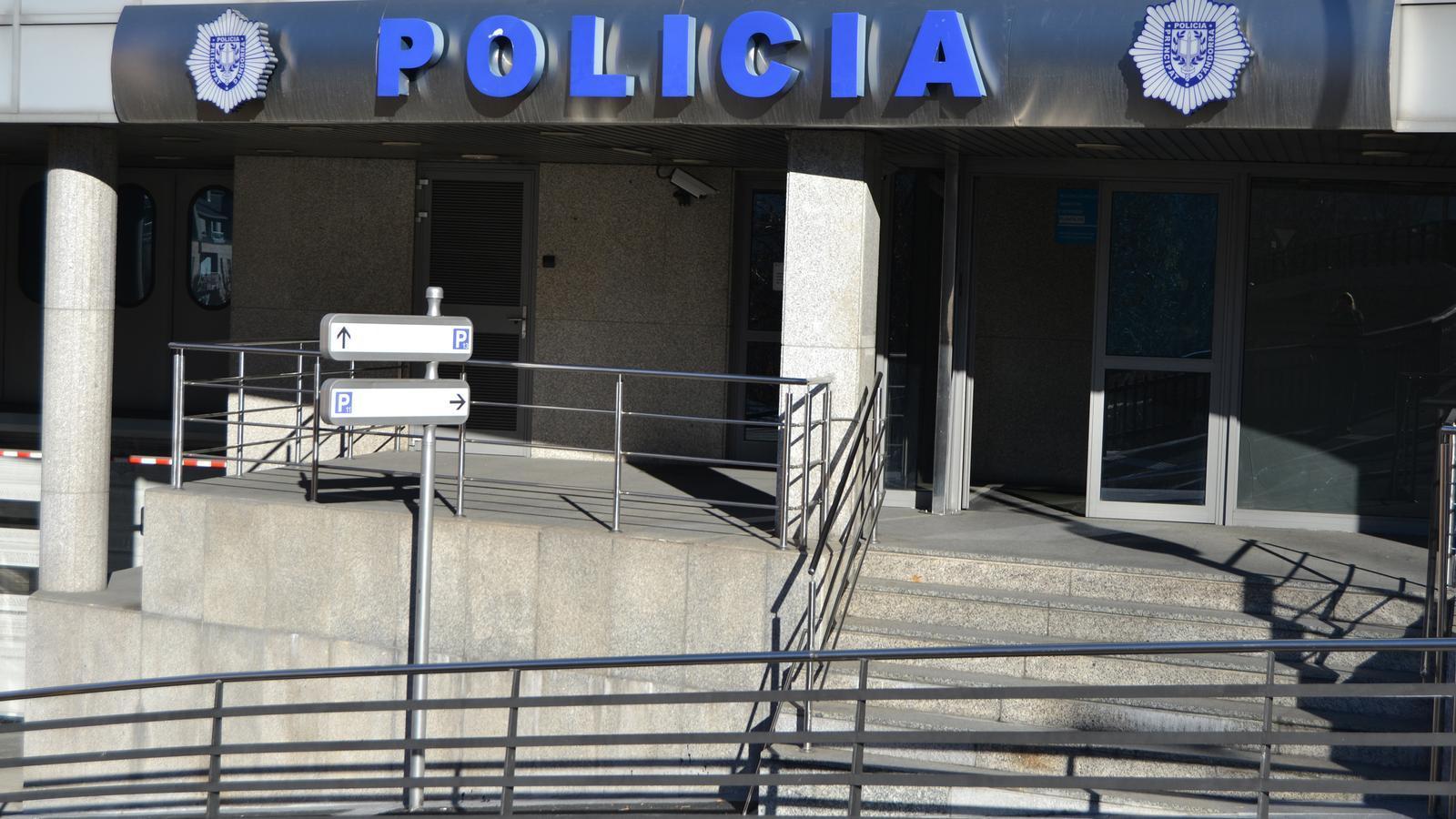 L'edifici central de la policia. / ARXIU