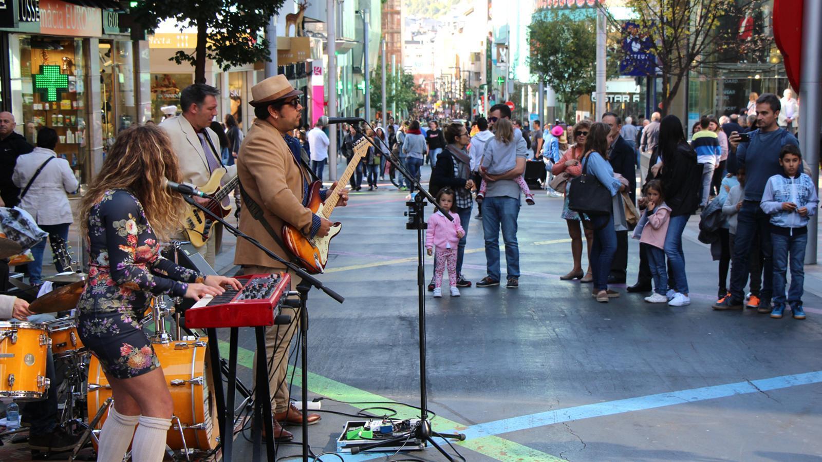 Un dels grups musicals del Dia Vivand / M. T. (ANA)