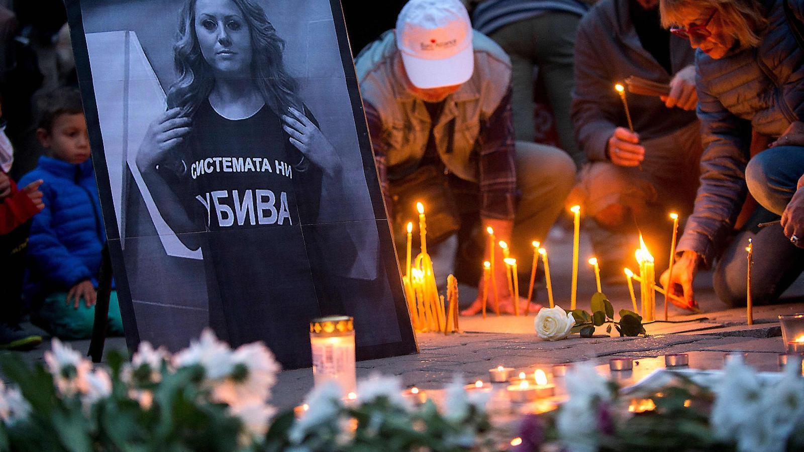 Alarma a la UE per l'assassinat de Viktoria Marinova