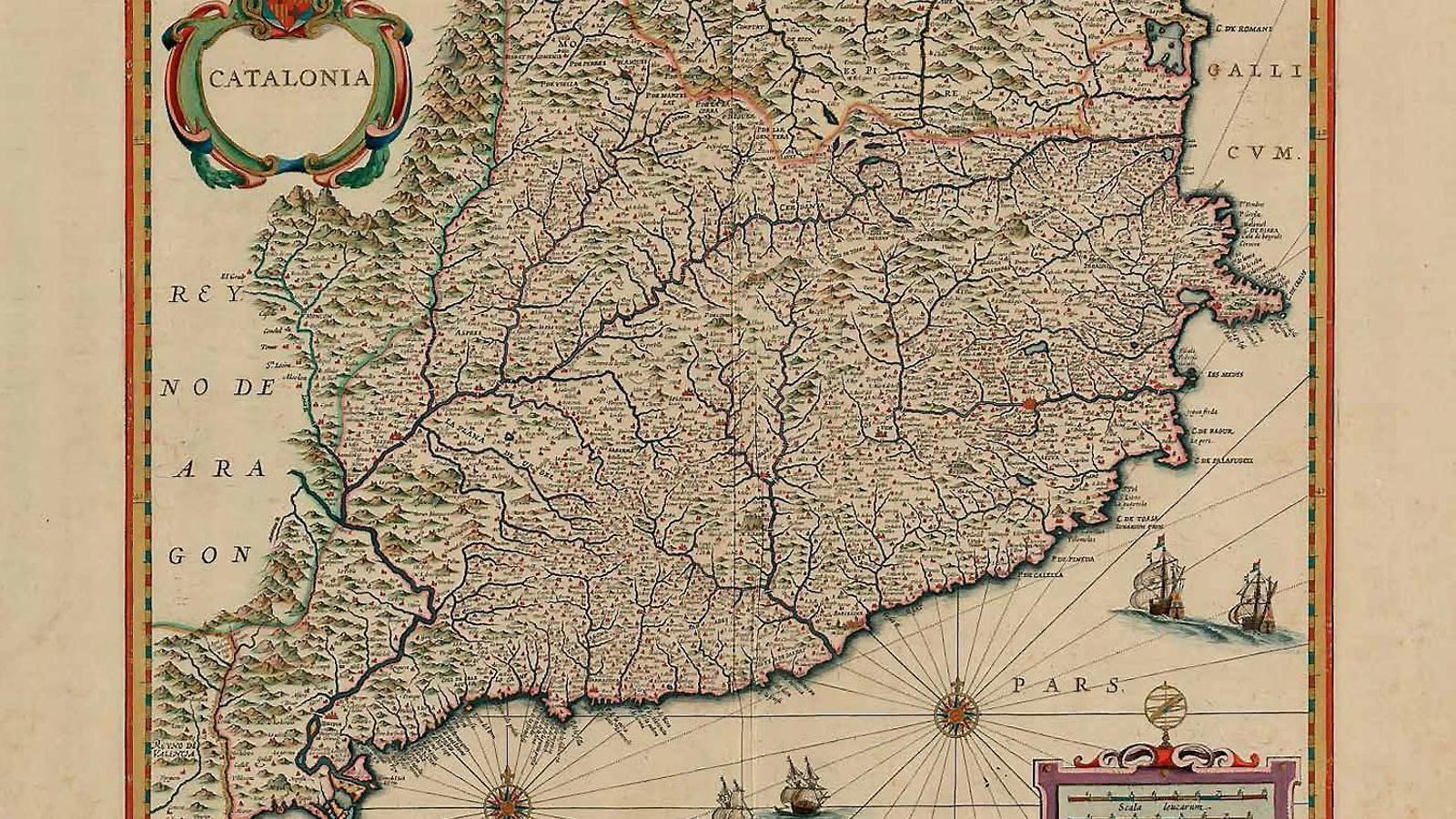 Mapa publicat l'any 1652 a Amsterdam com a part de l'obra Atlantis nova pars secunda.