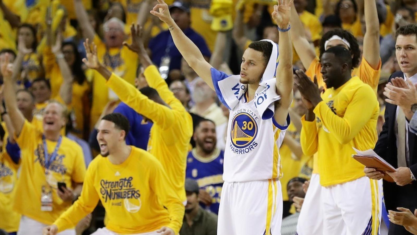 Els Warriors van derrotar als Thunder en el cinquè partit i encara tenen opcions d'accedir a la final de l'NBA