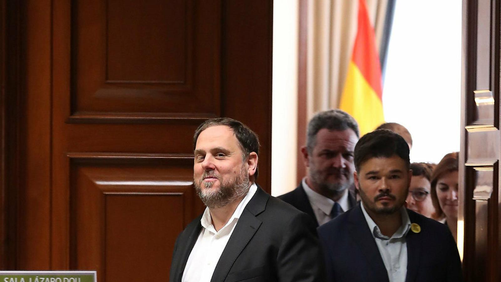 ERC mou fitxa per intentar que Junqueras torni a ser candidat
