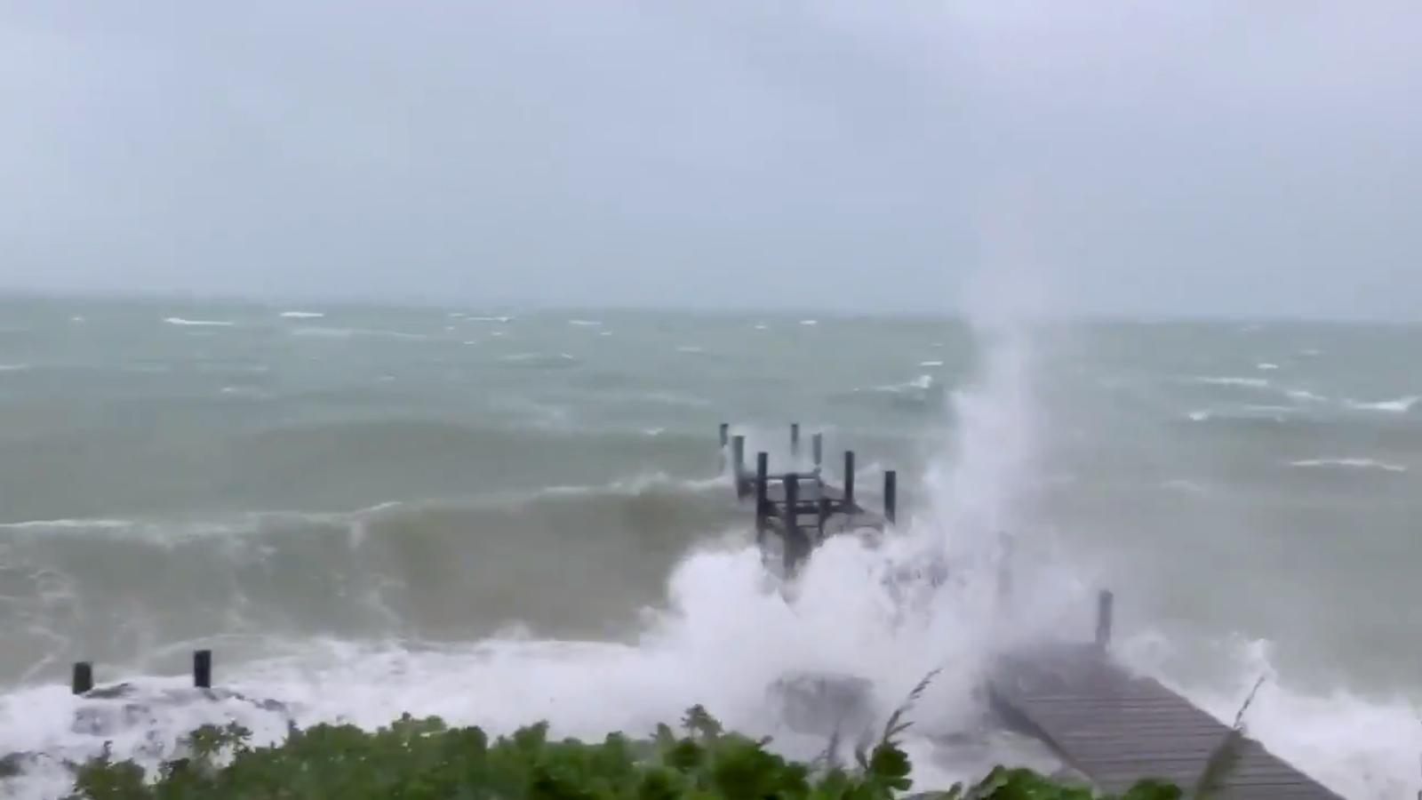 El 'Dorian' arriba a les Bahames com l'huracà més letal