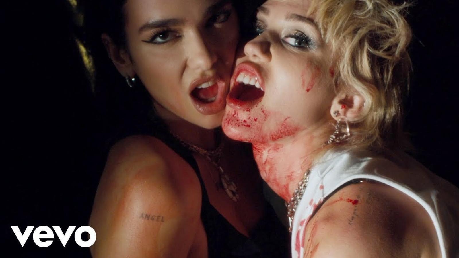 Miley Cyrus & Dua Lipa, 'Prisoner', videoclip