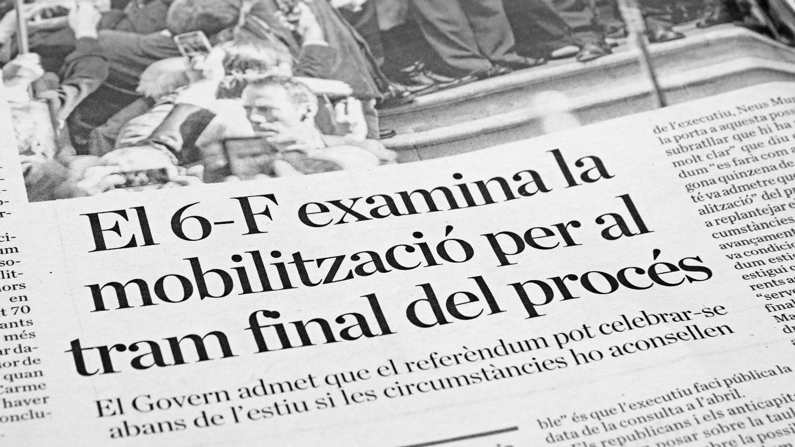 L'anàlisi d'Antoni Bassas: 'El 6-F i 2,3 milions de raons'