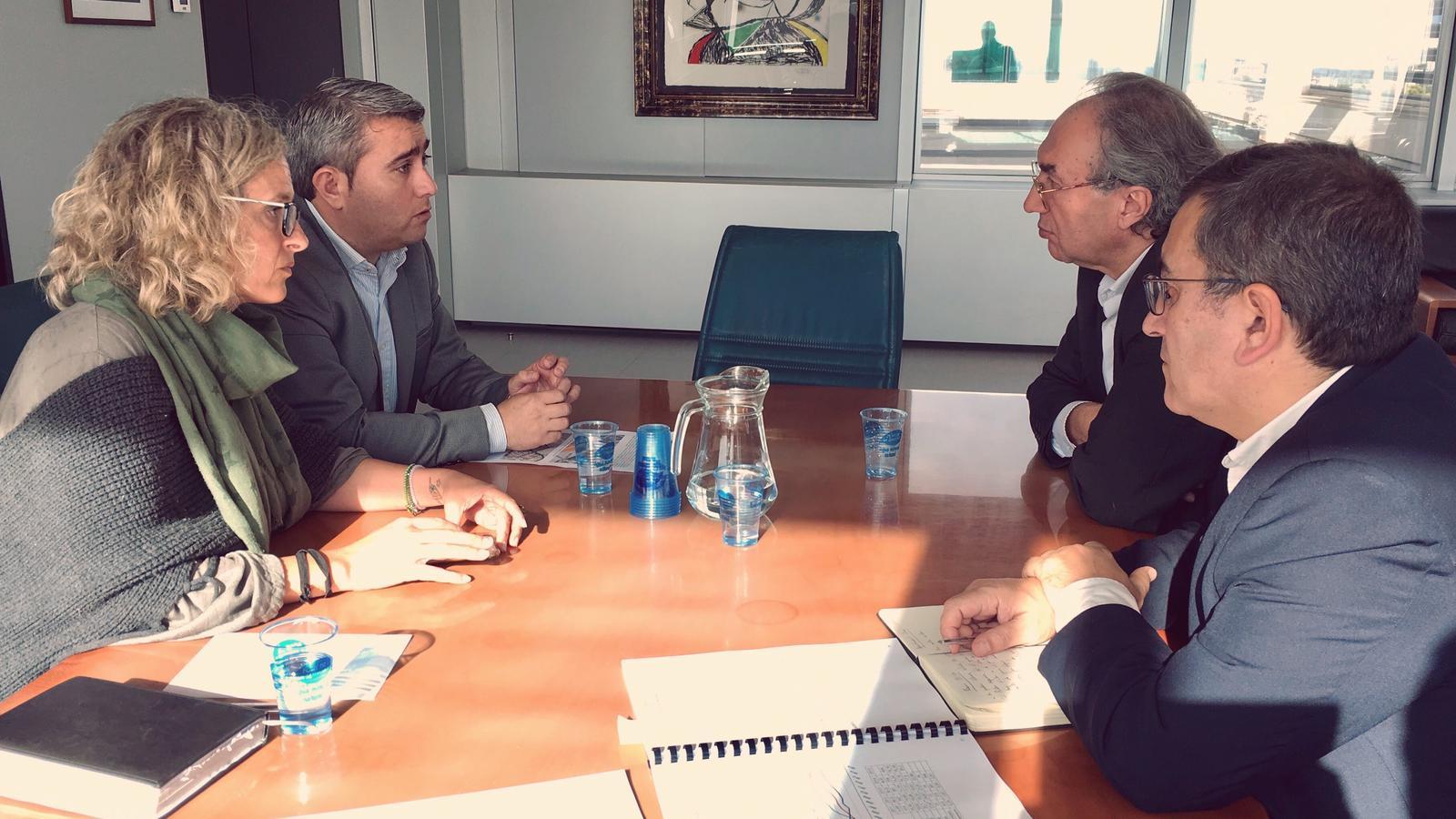 Reunió entre Ajuntament i Conselleria per tractar la problemàtica educativa d'Inca.