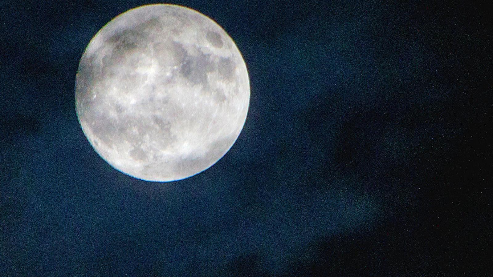 lluna plena avui