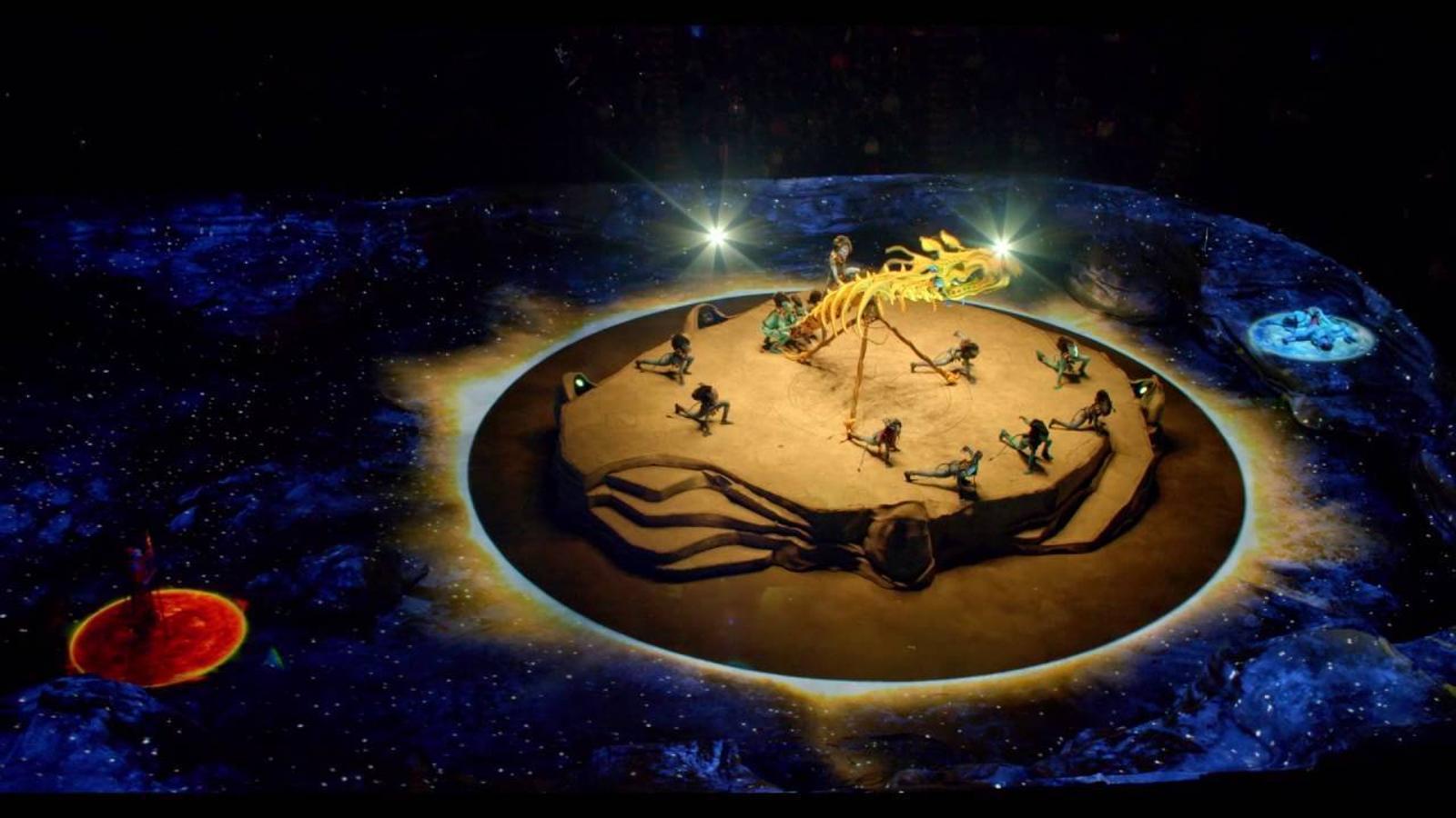 El Cirque du Soleil aterra a Barcelona amb una història d'Avatar
