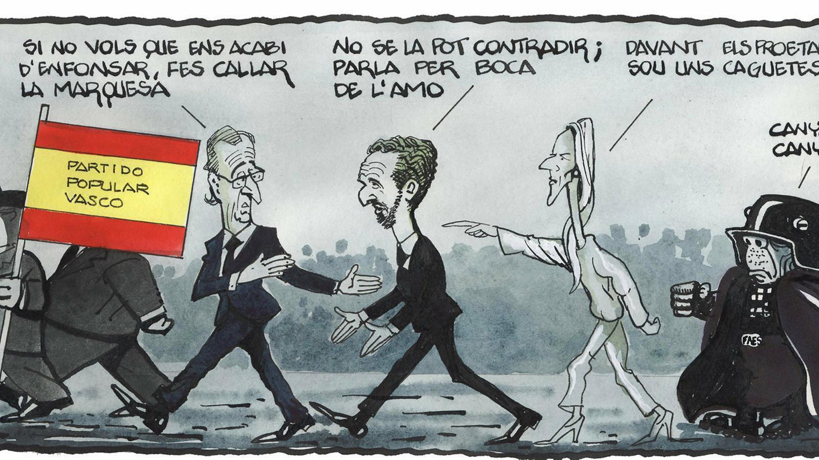 'A la contra', per Ferreres