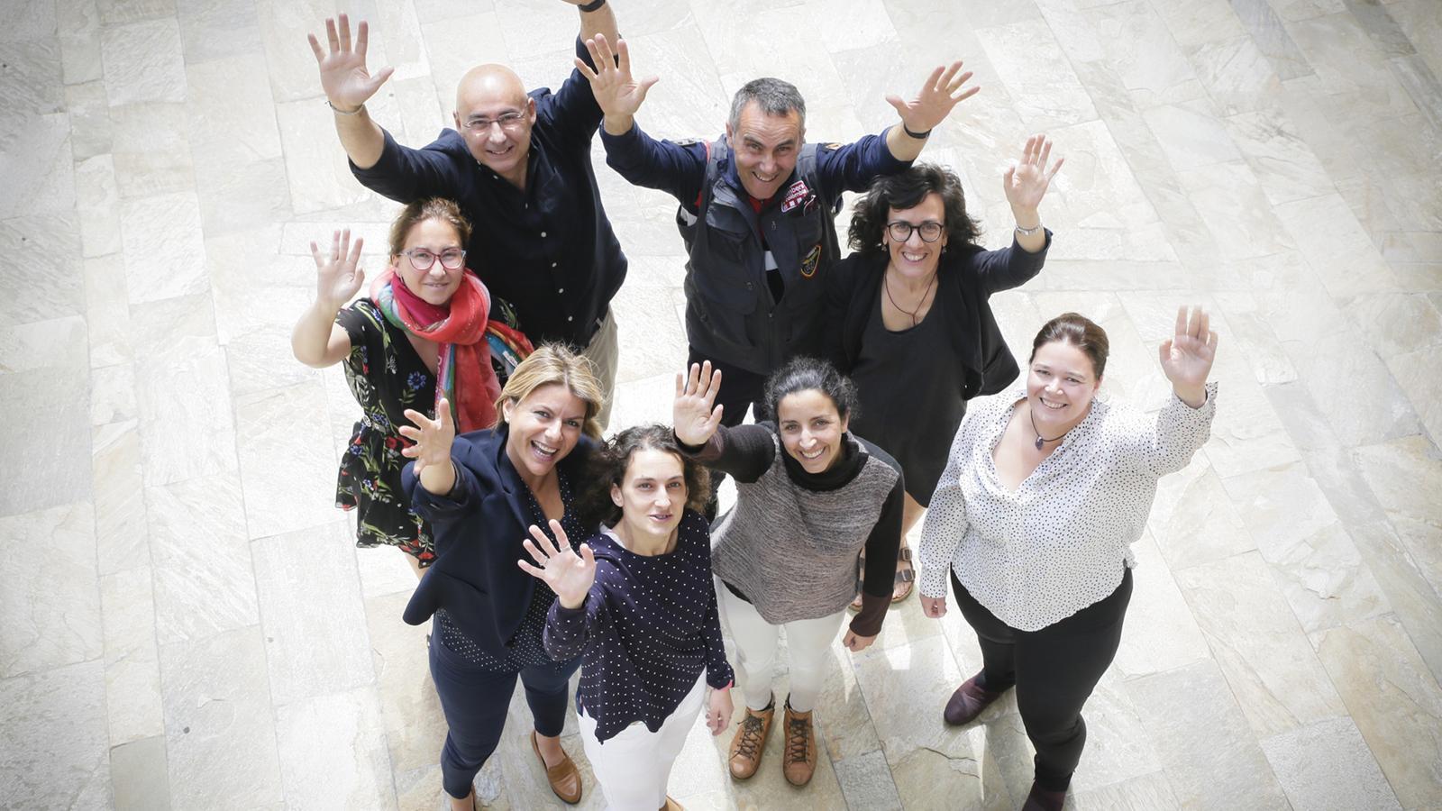 Les representants del govern uruguaià han mostrat interès en la metodologia emprada per Andorra. / SFG