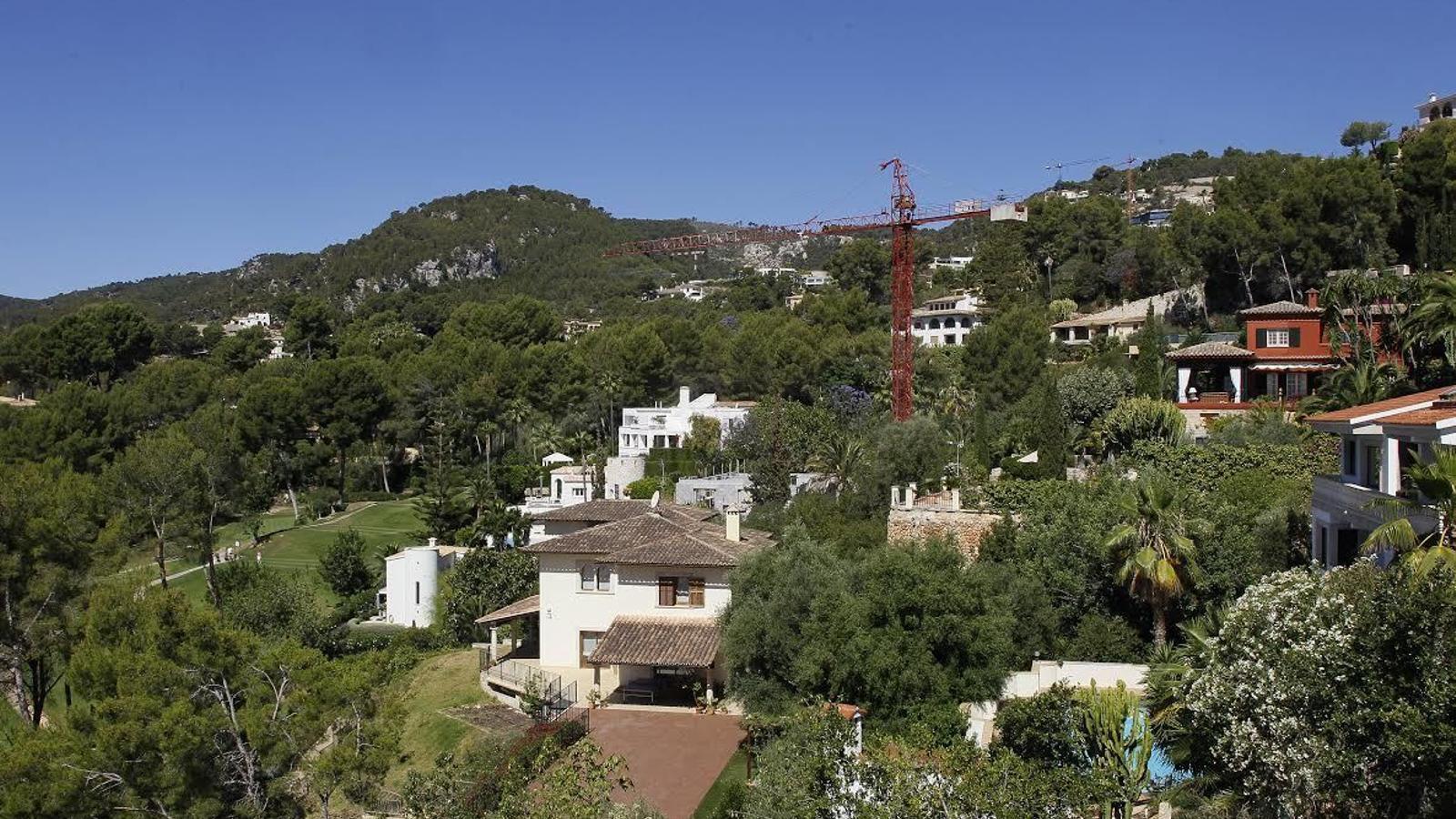 La luxosa urbanització de Son Vida, a Palma, no disposa de xarxa de clavegueram