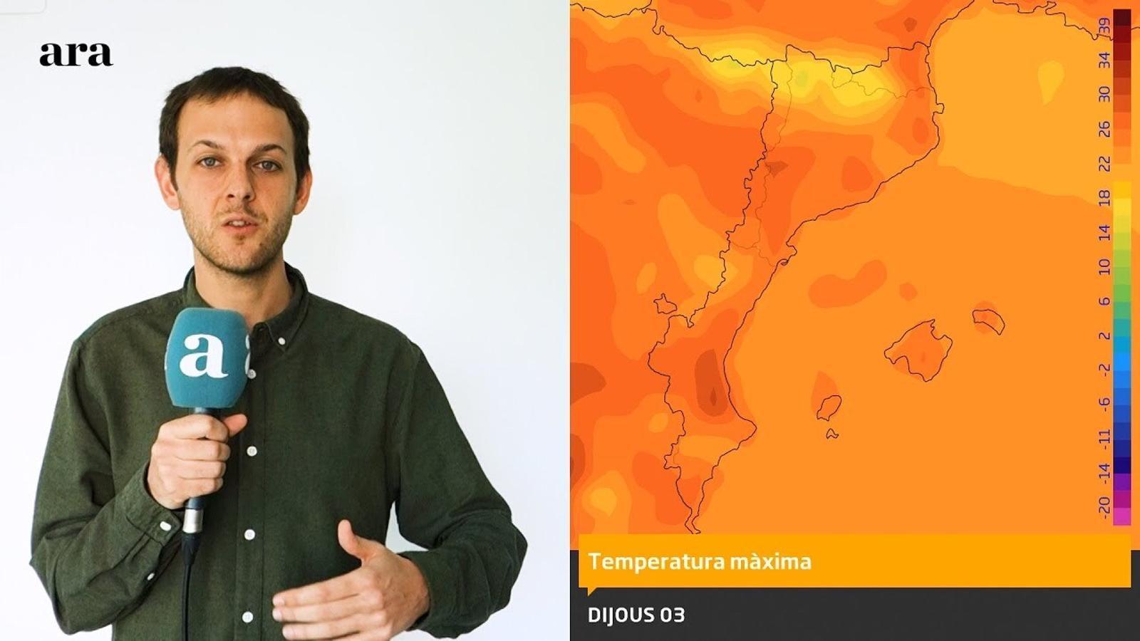 La méteo: poca calor fins a mitjans de setmana