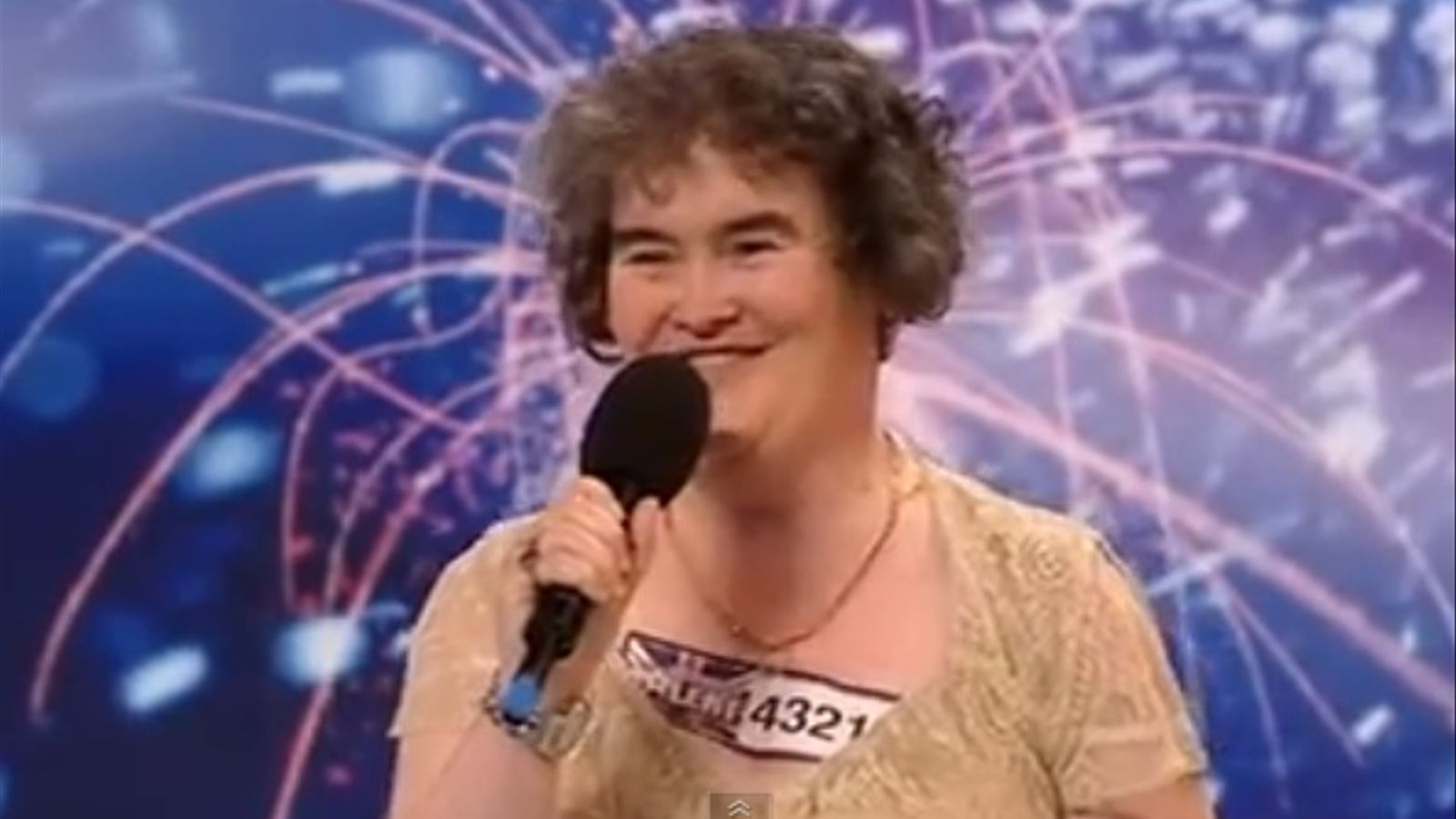 Susan Boyle a 'Britain's got talent'