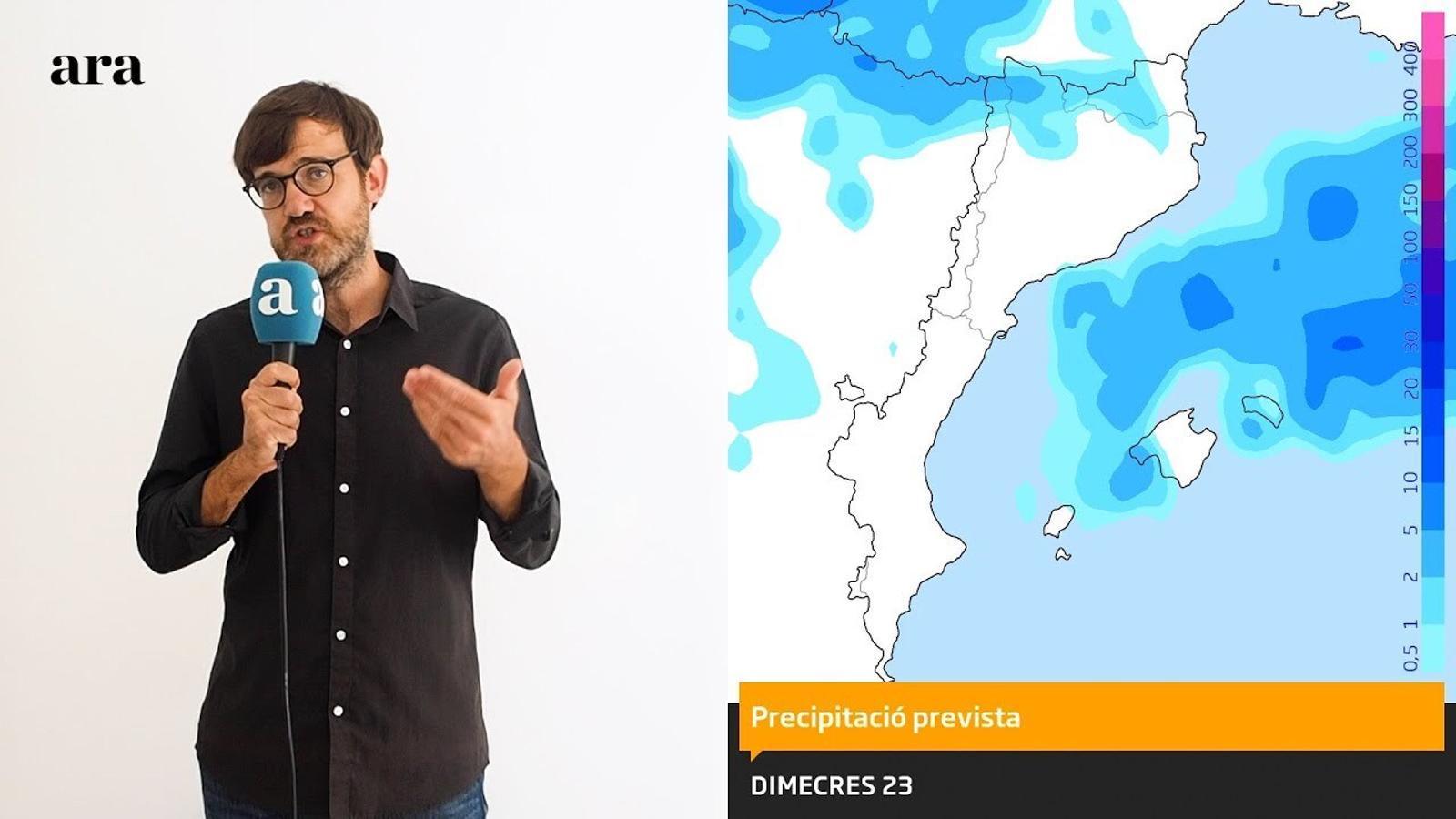 La méteo: fred i neu avançats per a l'època a partir de divendres