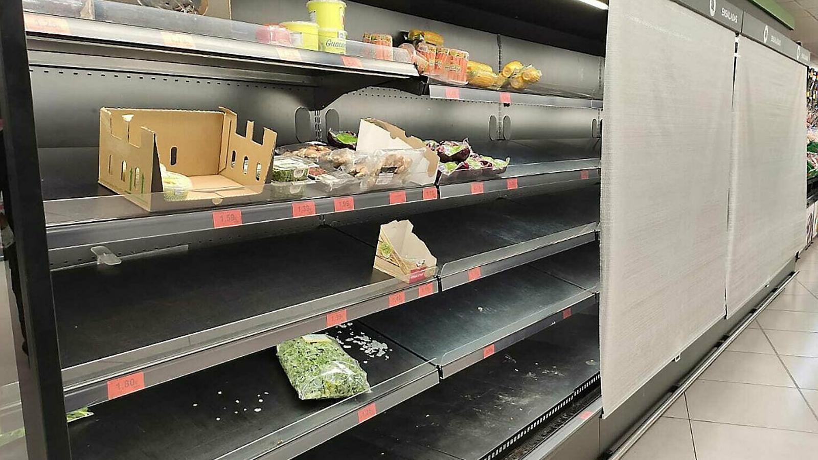 Alarma per la dependència alimentària de les Illes Balears