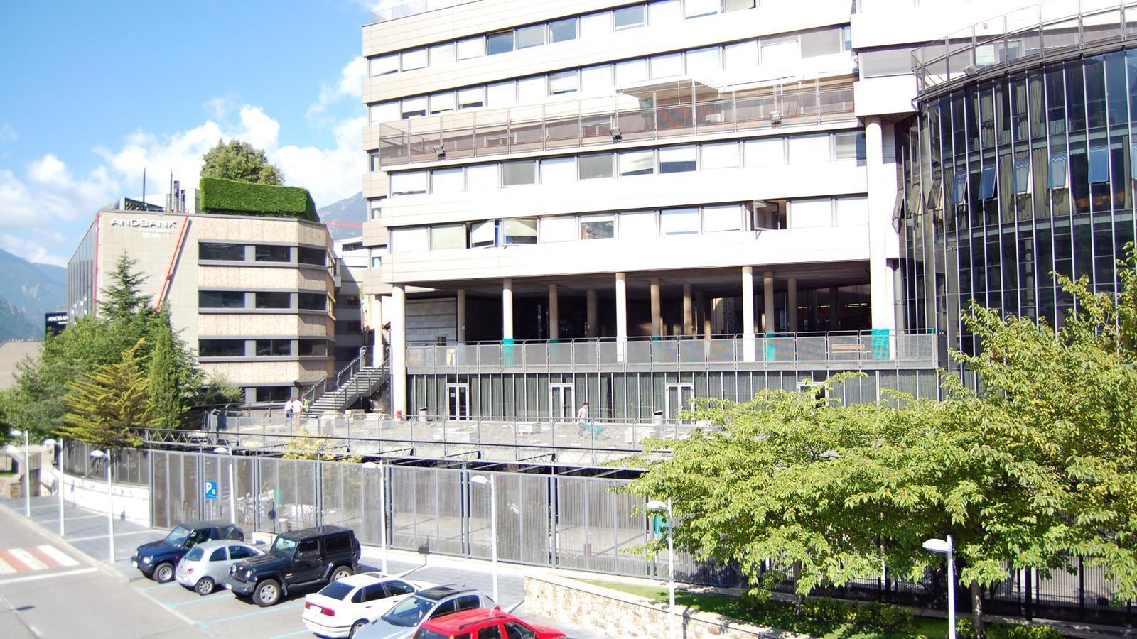 Vista general del col·legi espanyol María Moliner d'Escaldes-Engordany. / ARXIU ANA