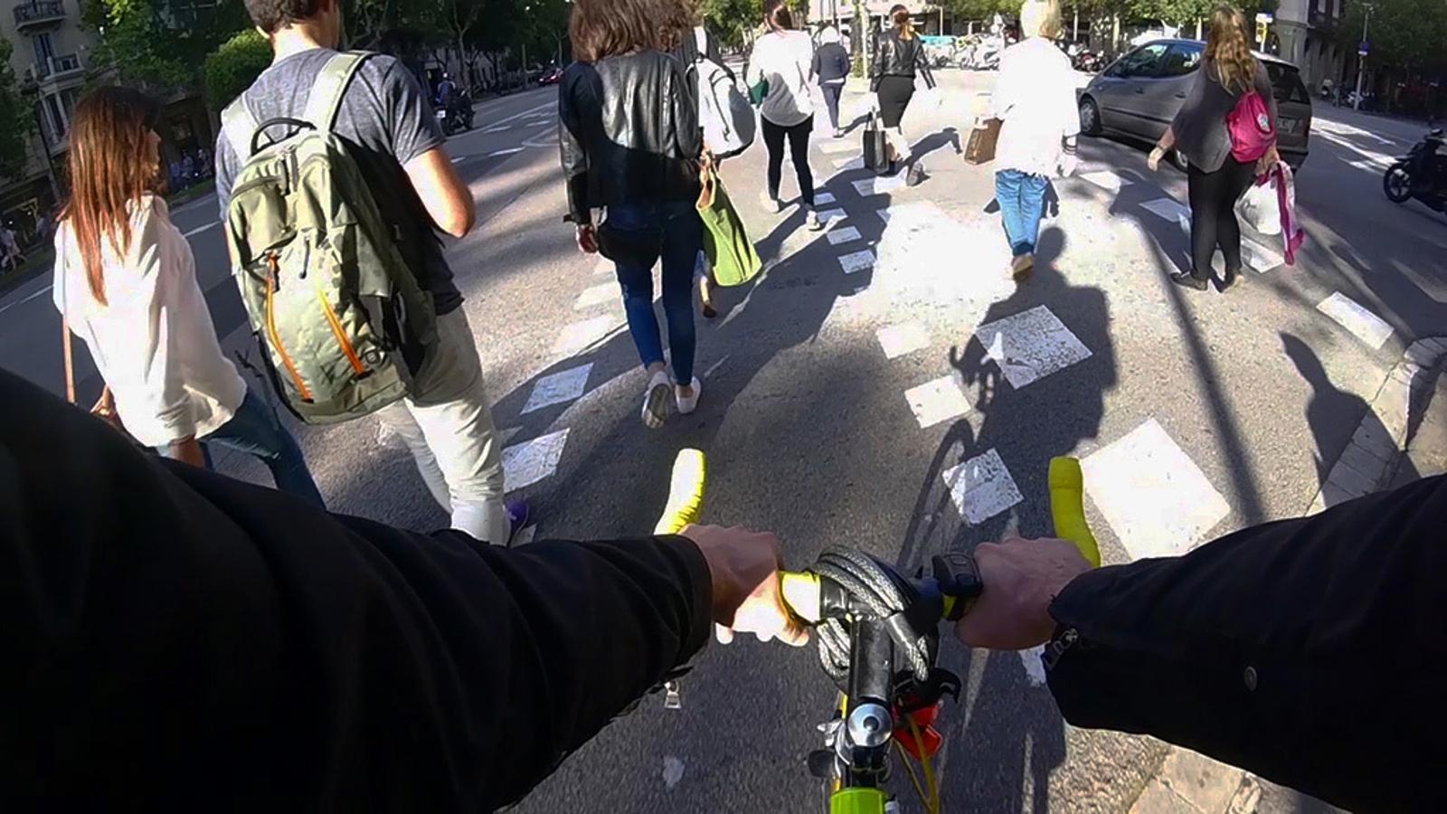 En bici per la ciutat
