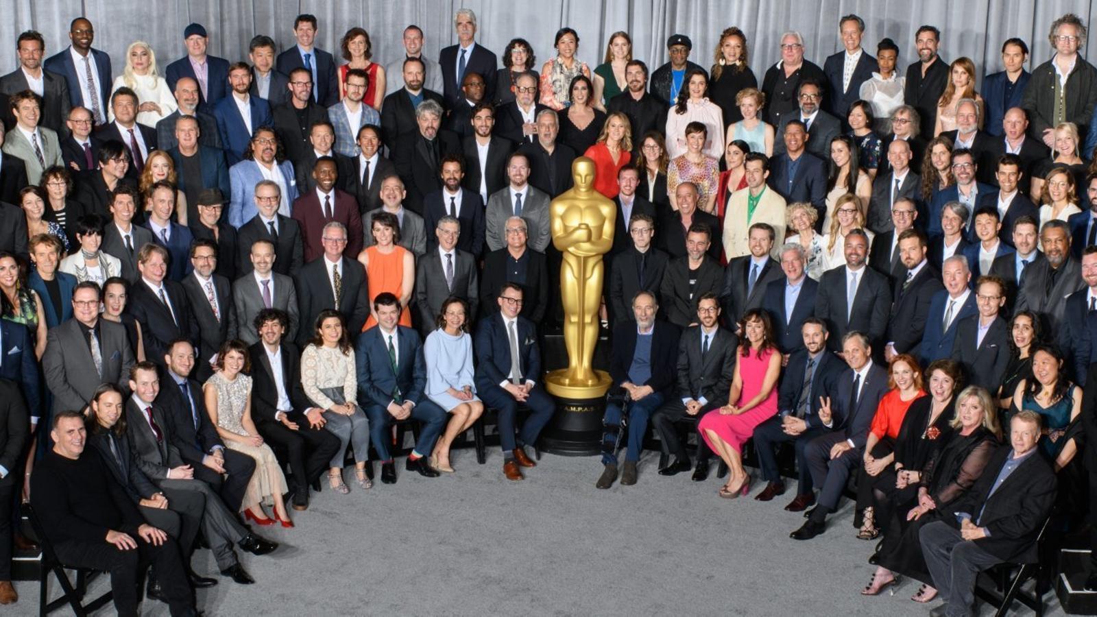 Els nominats als Oscars al dinar de família