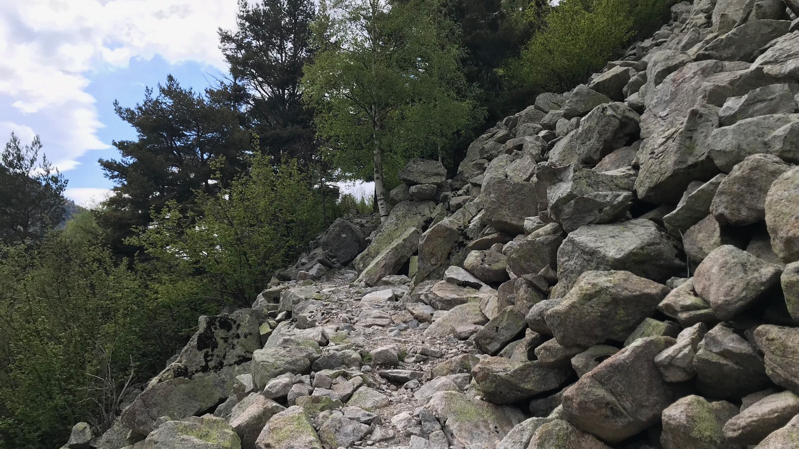 Camí de la Vall del Madriu. / ALEXANDRA