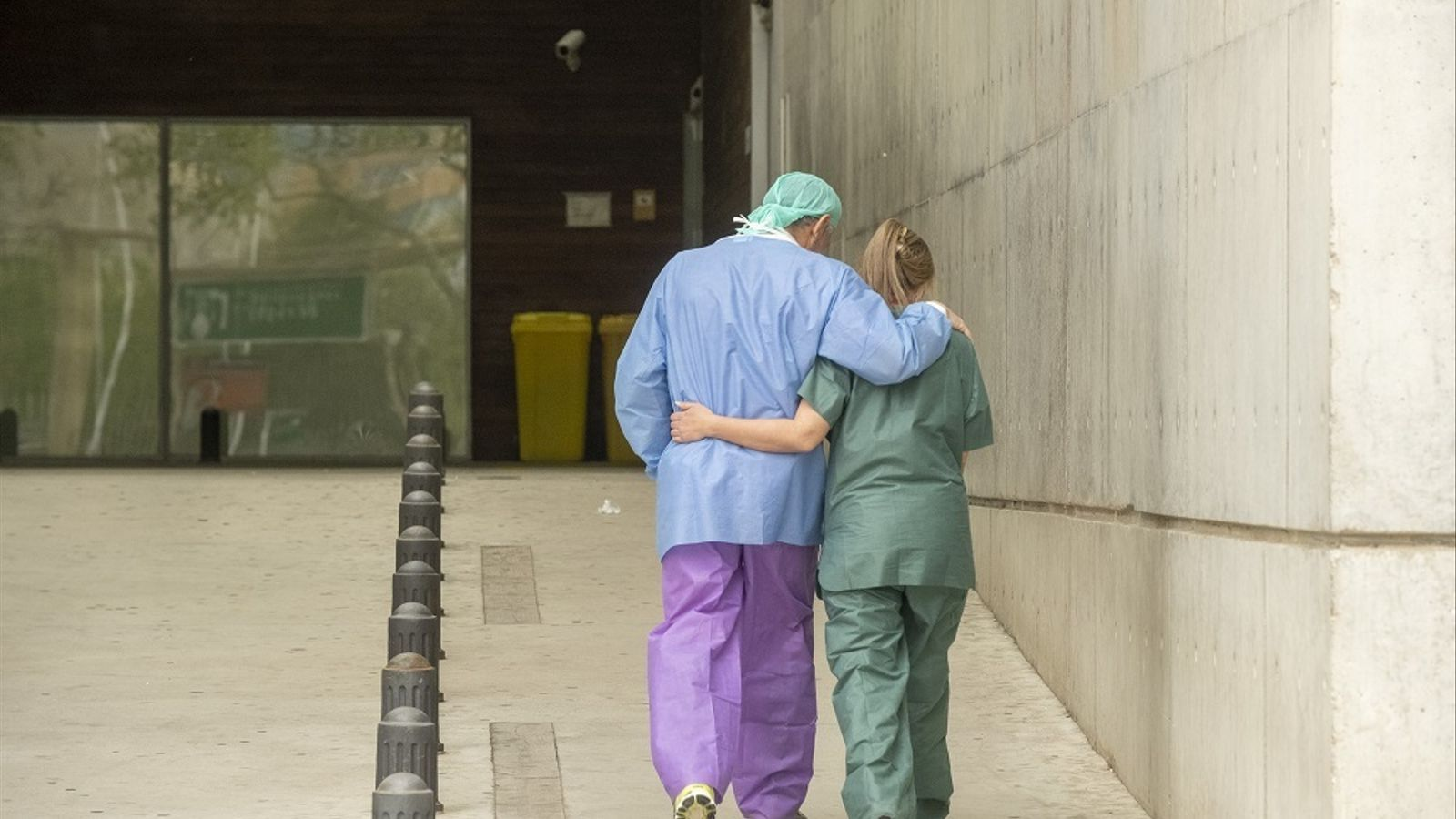 Imatge de les urgències de l'hospital de Bellvitge un dels últims dies de març.
