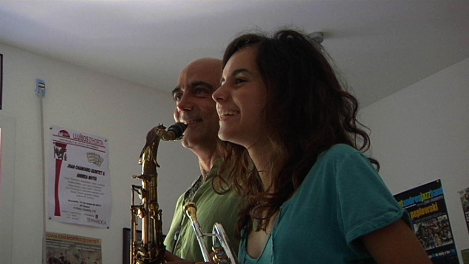 Joan Chamorro sobre Andrea Motis: No me la imagino cantant pop. Però ella mana en el seu futur.
