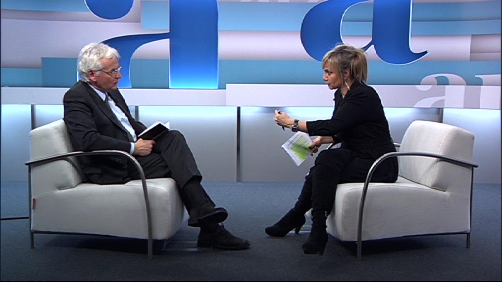 Entrevista a Ferran Mascarell, per Mònica Terribas