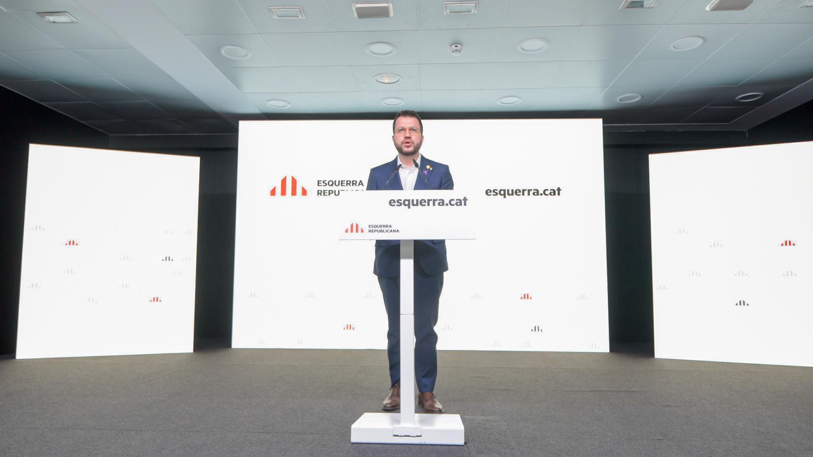 El acuerdo ERC y PSOE prevé que Catalunya reciba 2.339 millones de euros en inversiones en 2021