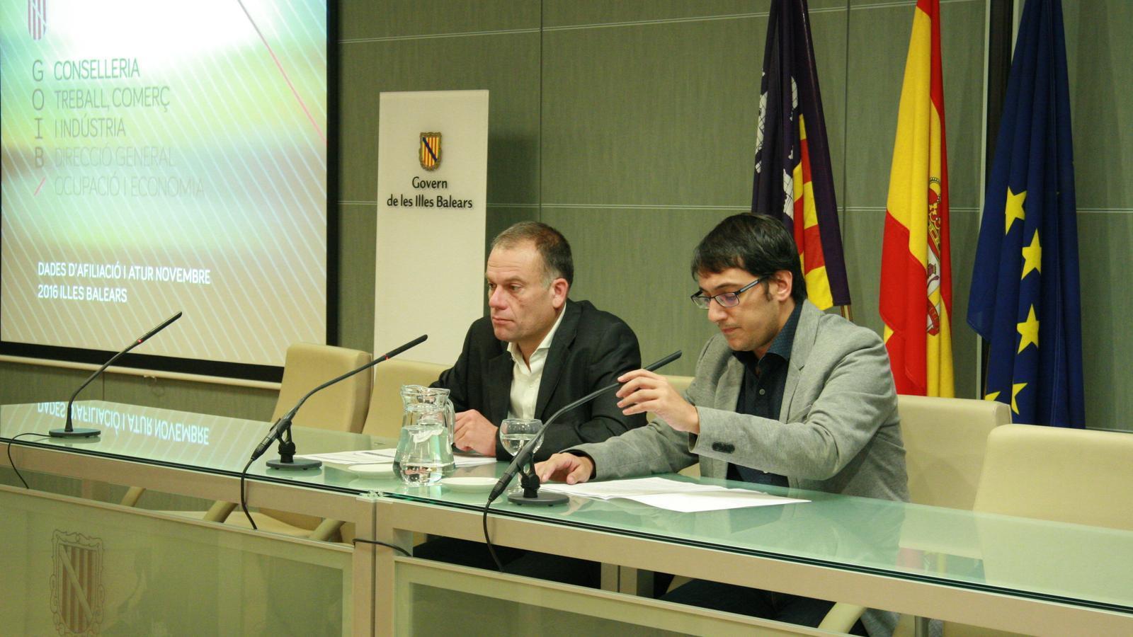 Pou i Negueruela han presentat les dades aquest divendres