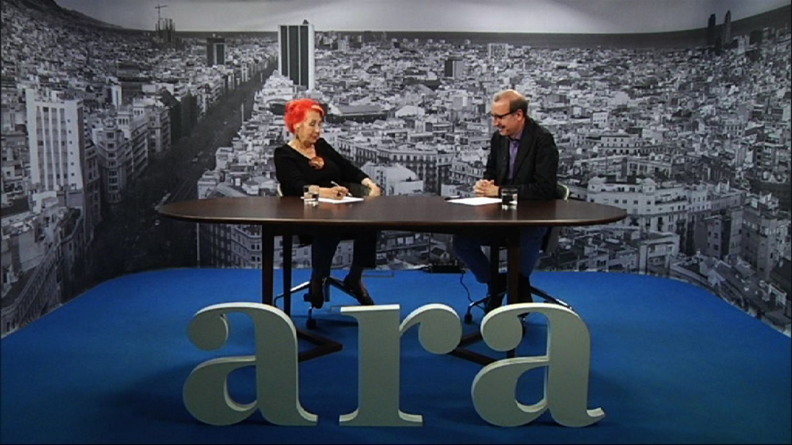 Entrevista d'Antoni Bassas a Rosa Maria Calaf