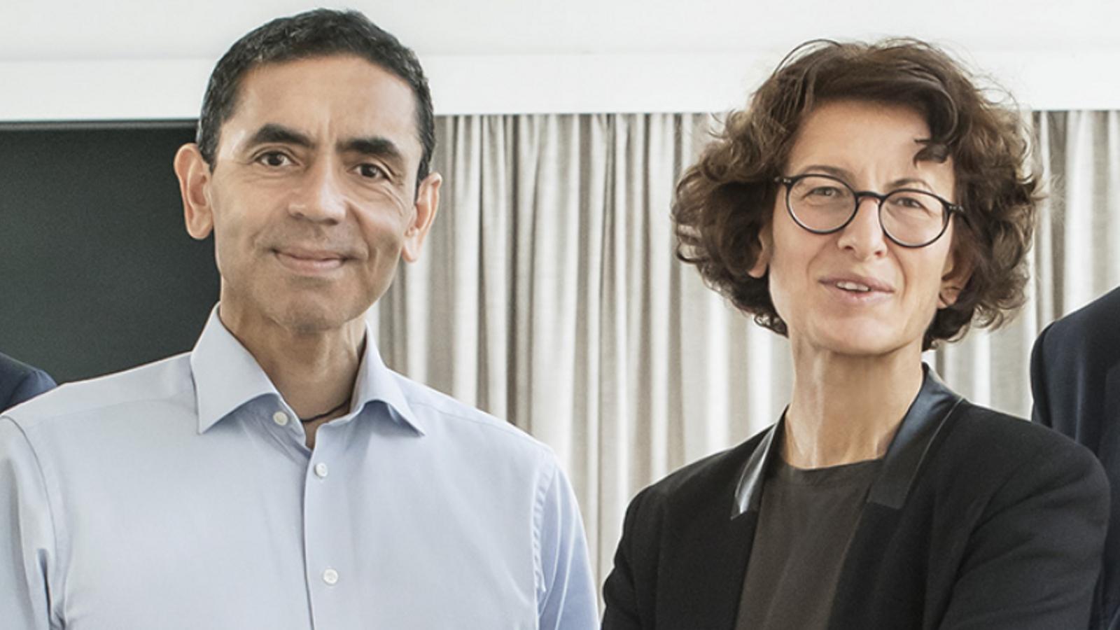 Uğur Şahin i Özlem Türeci, els pares turcoalemanys de la vacuna més esperançadora contra el covid-19