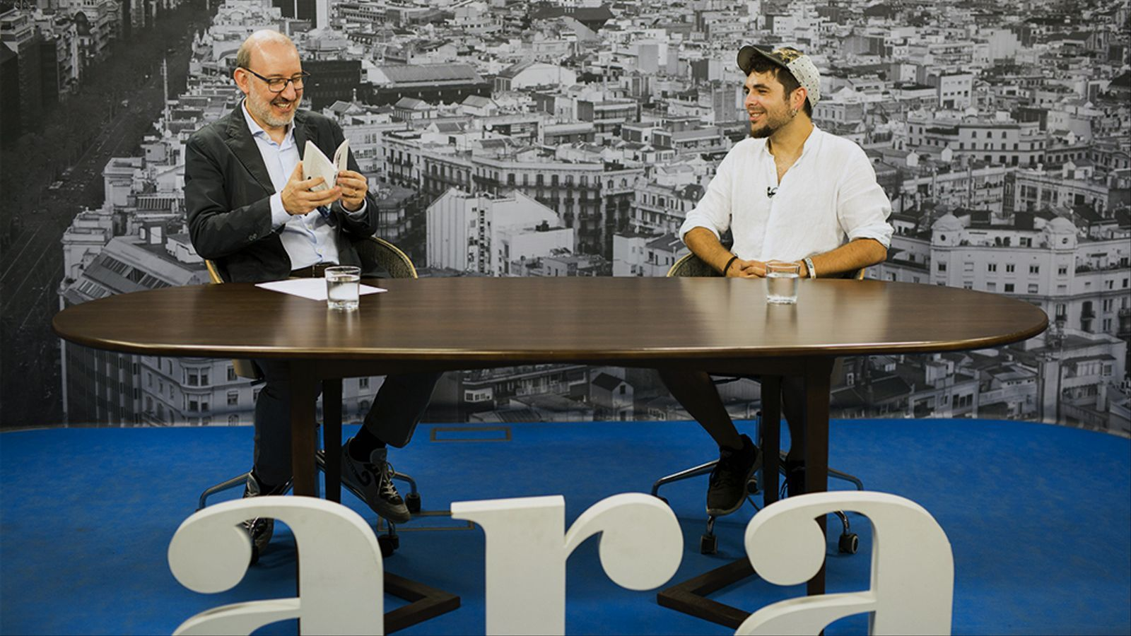 Entrevista d'Antoni Bassas a Alguer Miquel