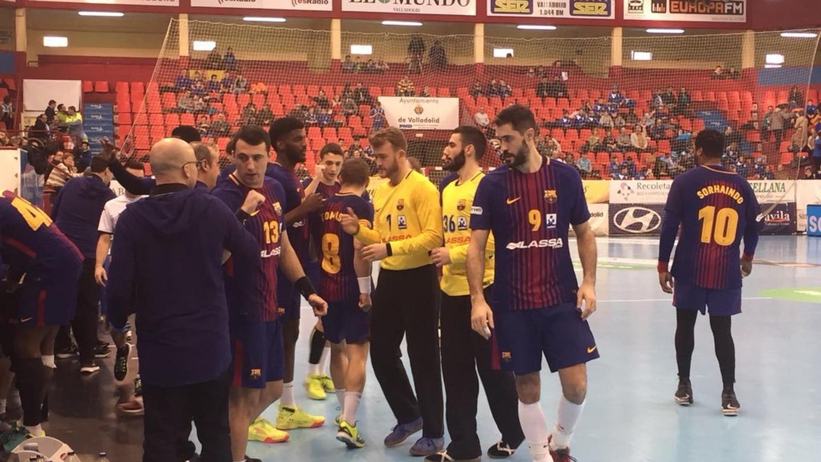 Palmarsson dona el triomf el Barça Lassa en el darrer segon (29-30)