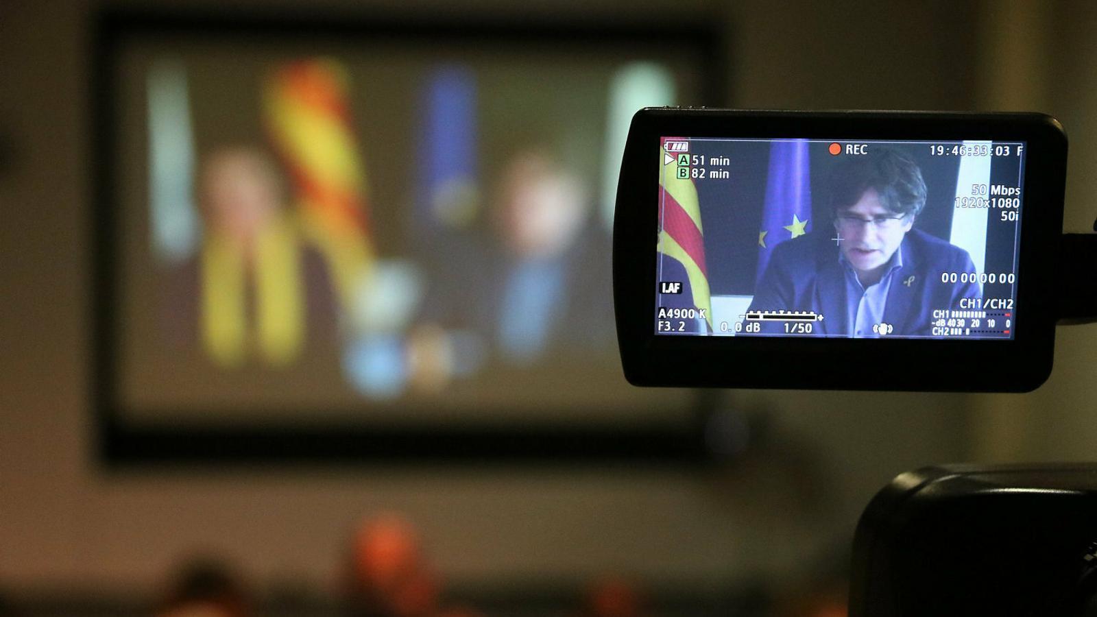 El Supremo sostiene que Puigdemont puede ser candidato a las europeas