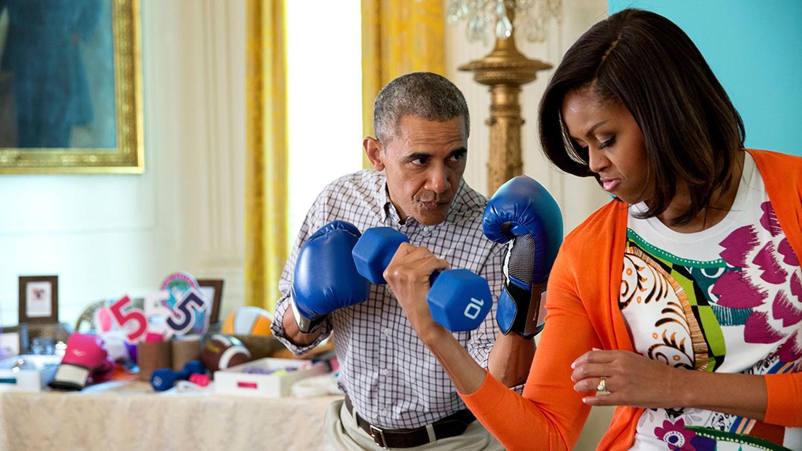 Obama ha estat un president combatiu però des de la paraula, el gest i l'empatia.