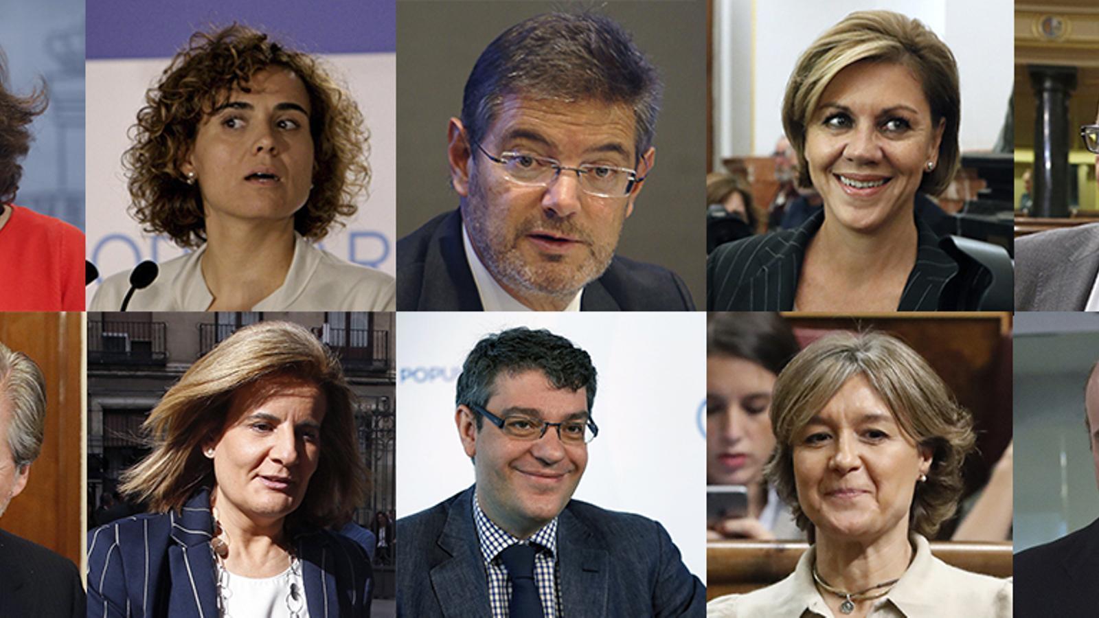 Els membres del nou govern espanyol