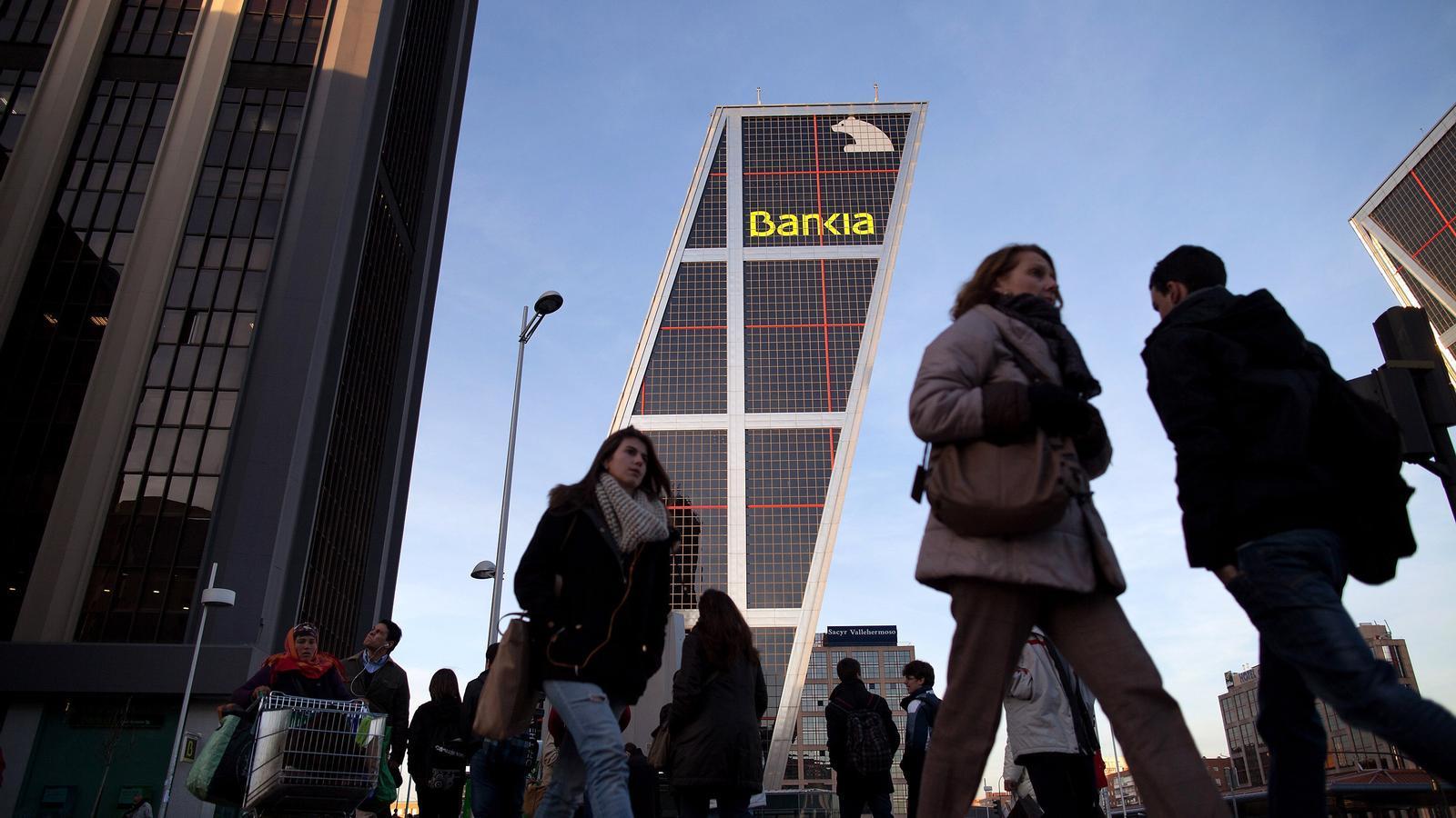 La seu de Bankia a Madrid, en una imatge d'arxiu.