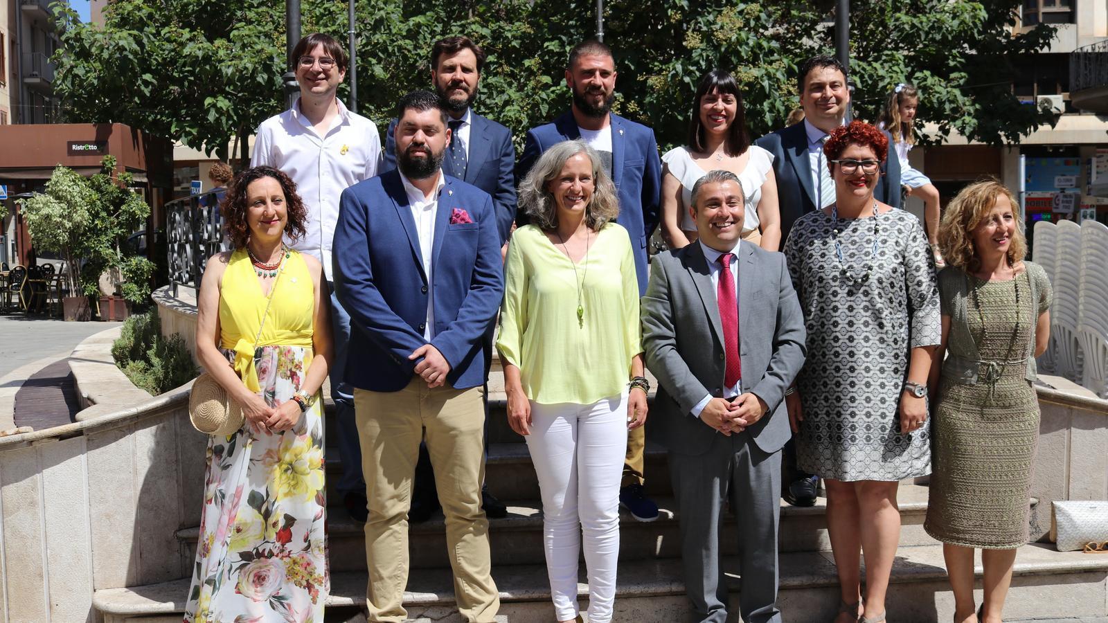 Equip de govern de l'Ajuntament d'Inca, integrat per PSOE (9) i MÉS (2)