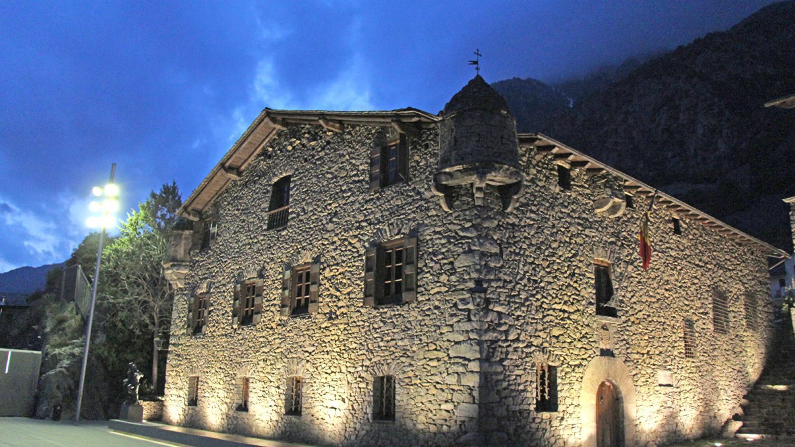 Casa de la Vall perd 4.000 visitants des que l'entrada és de pagament / Arxiu ANA