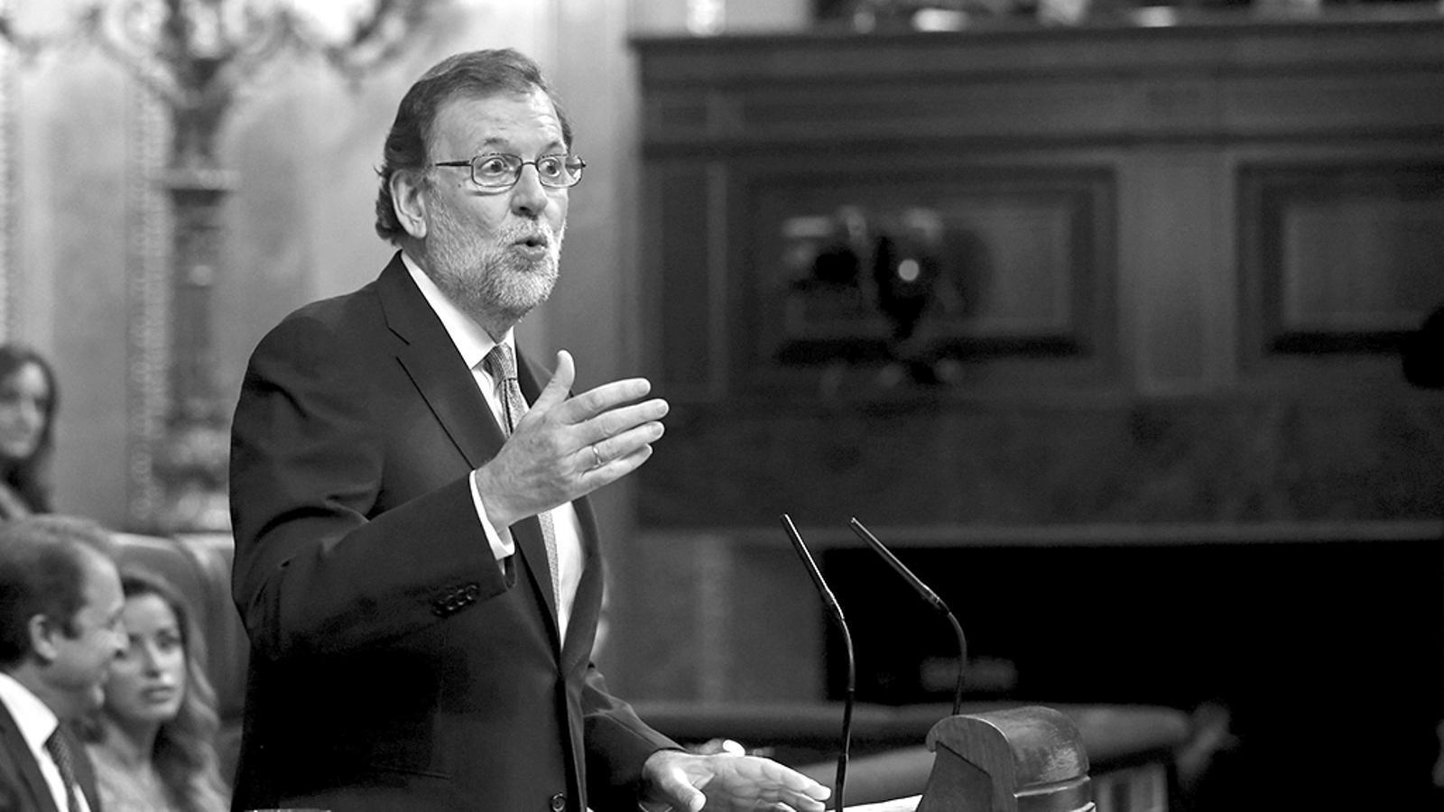 "L'anàlisi d'Antoni Bassas: 'Rajoy: ""Si yo soy malo, ¿usted es pésimo?""'"