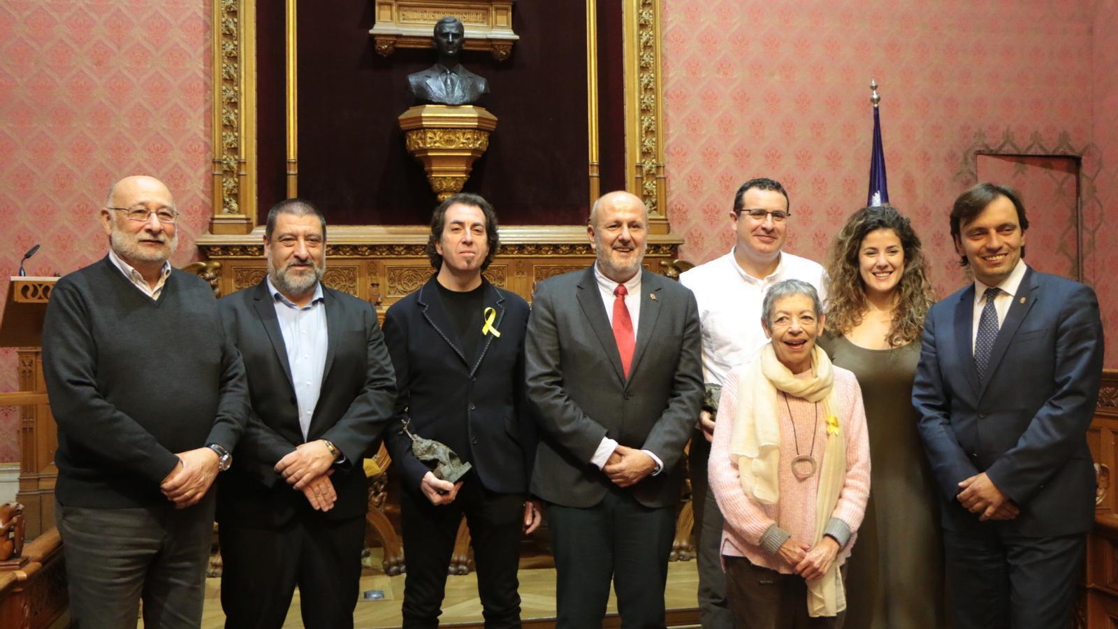 Pere Joan Martorell i Josep Lluís Roig, guanyadors dels Premis Mallorca 2017