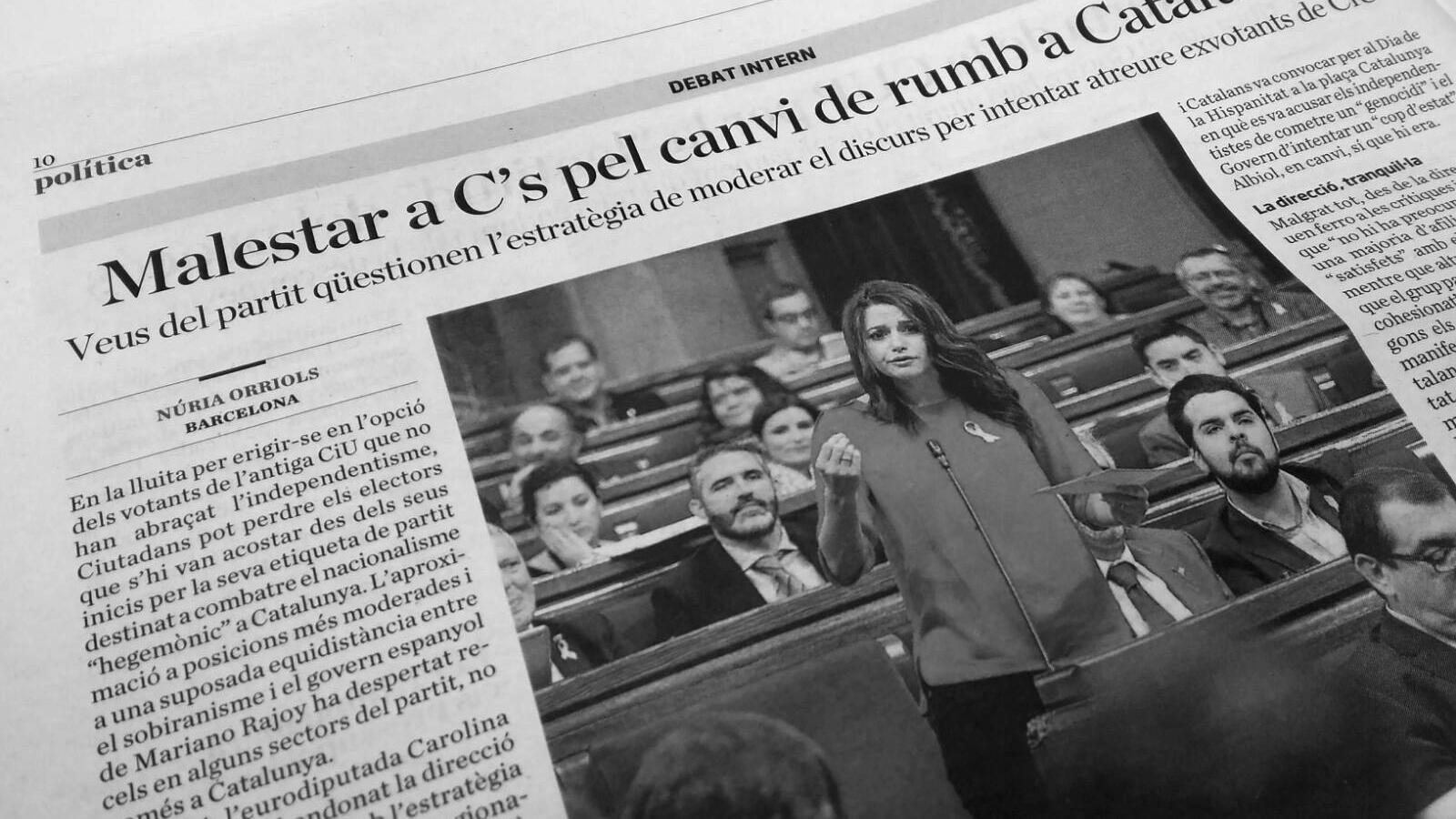 L'anàlisi d'Antoni Bassas: 'Les raon d'Arrimadas i la pregunta de Rajoy'
