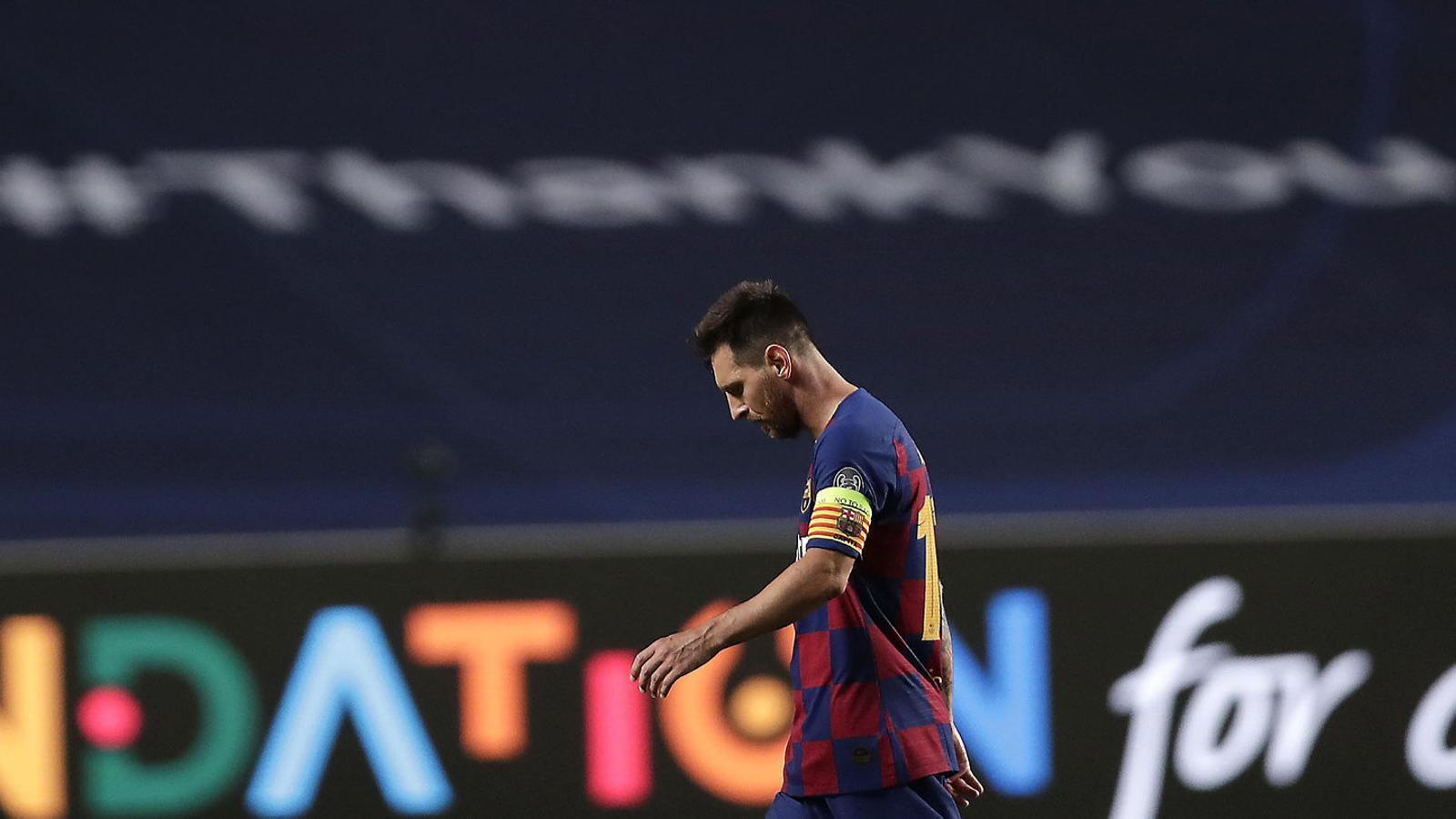 El final inevitable per a Messi