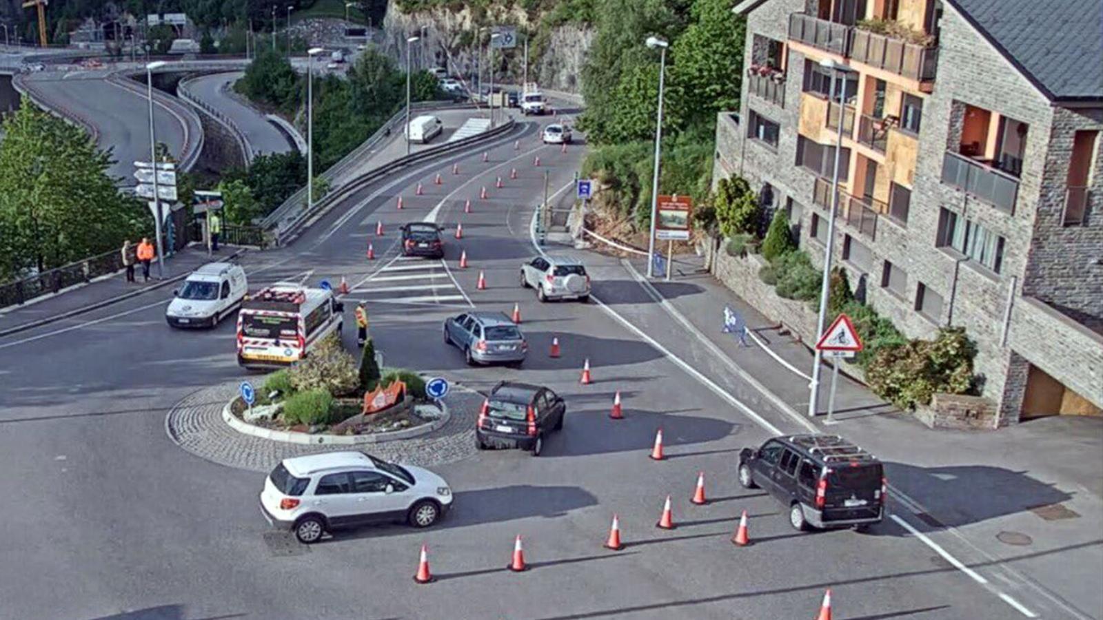 La zona on ha tingut lloc l'accident en una imatge d'arxiu. / ARXIU ANA